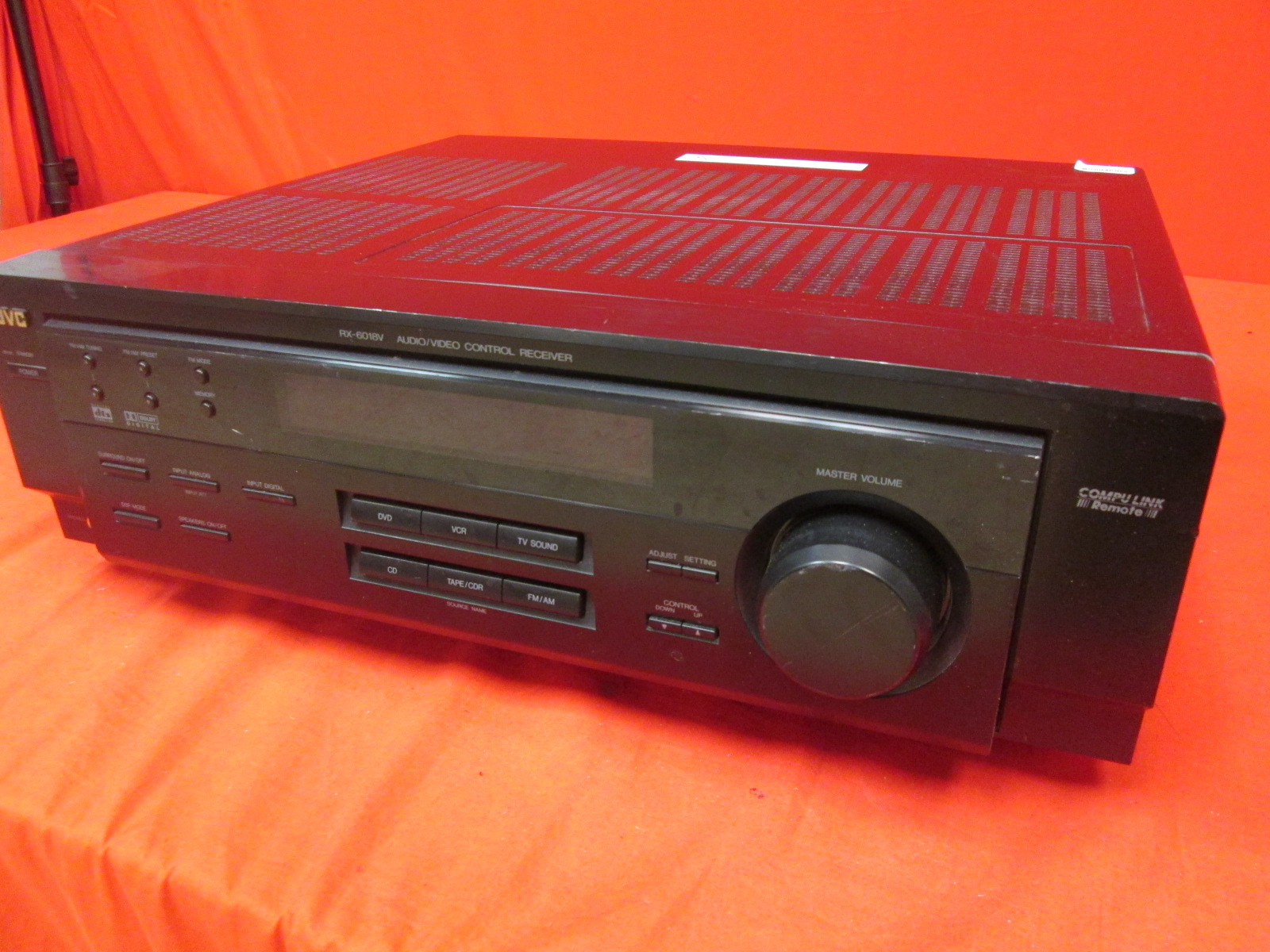 JVC RX-6018VBK Stereo Receiver Only