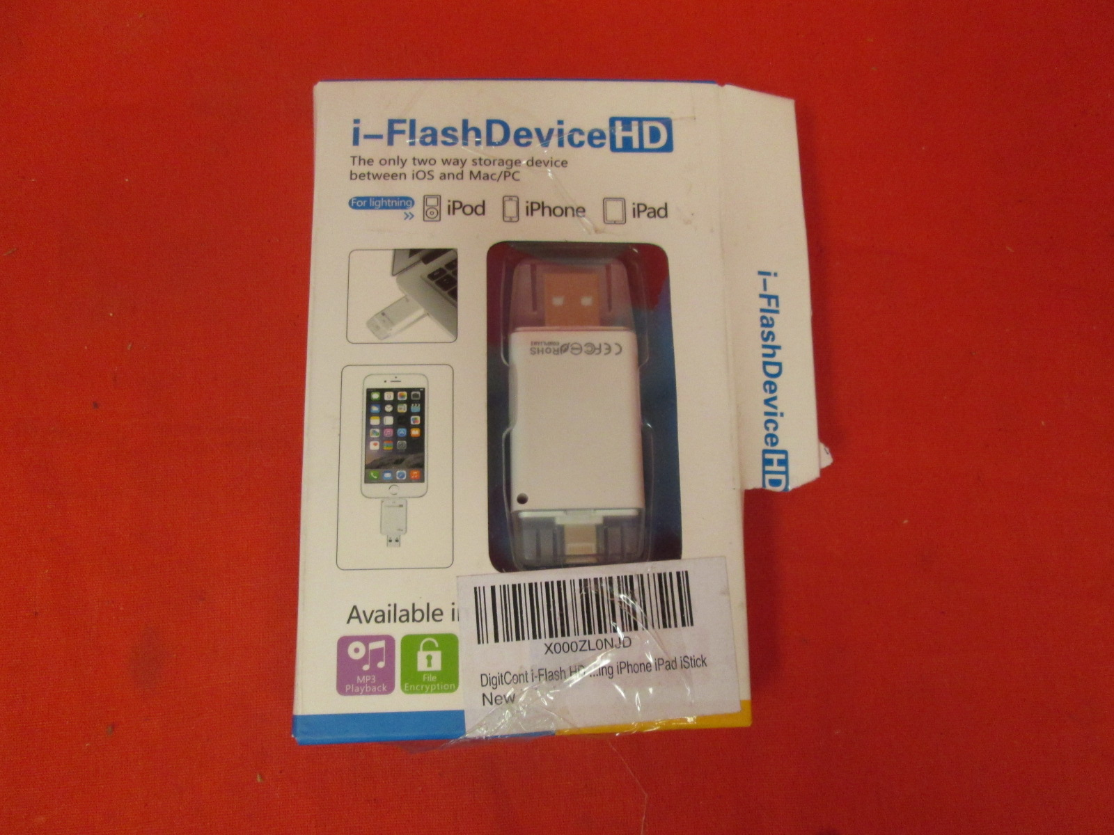 I-Flash Device HD Two Way Storage For iOS And Mac/pc