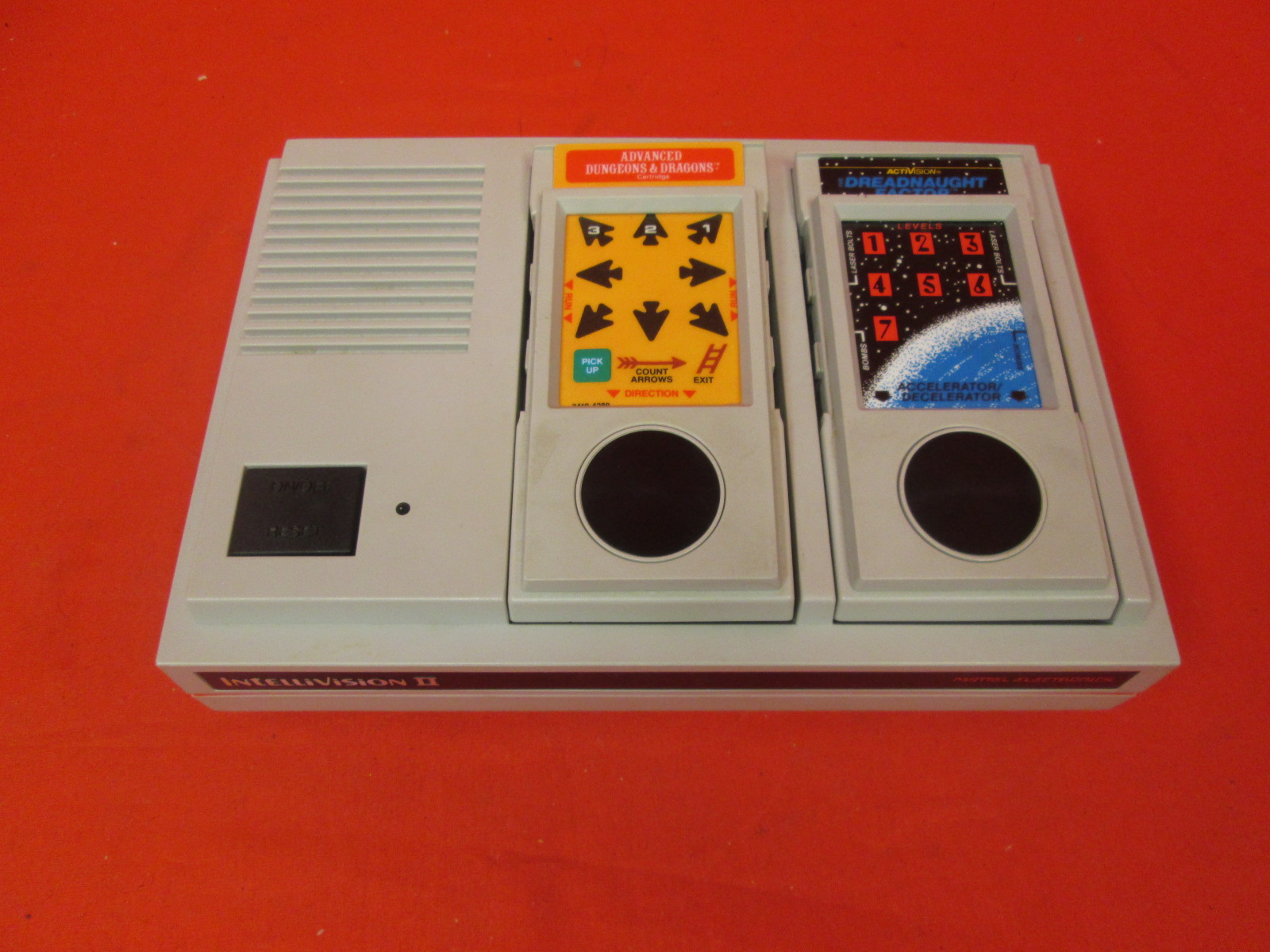 Mattell Electronics Intellivision II Model 5872 Incomplete