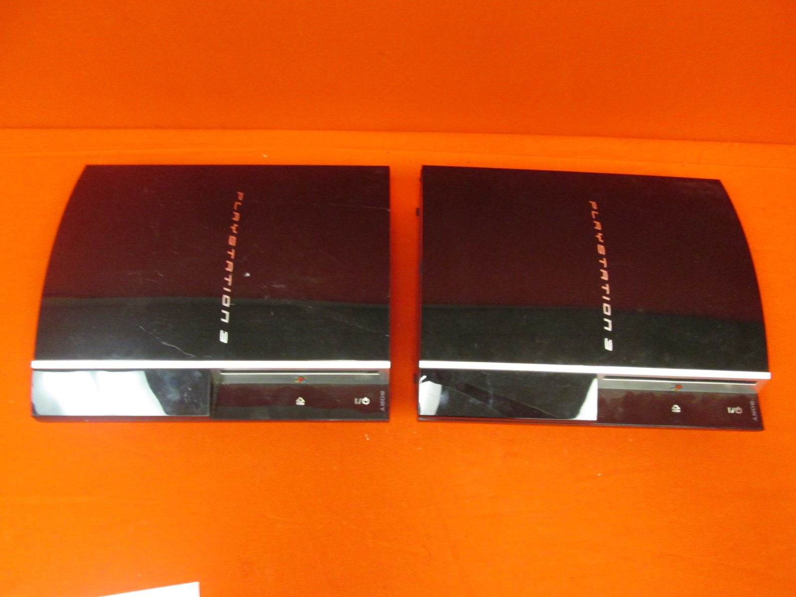 Broken Lot Of 2 Sony PlayStation 3 CECHG01 40GB Consoles Only:
