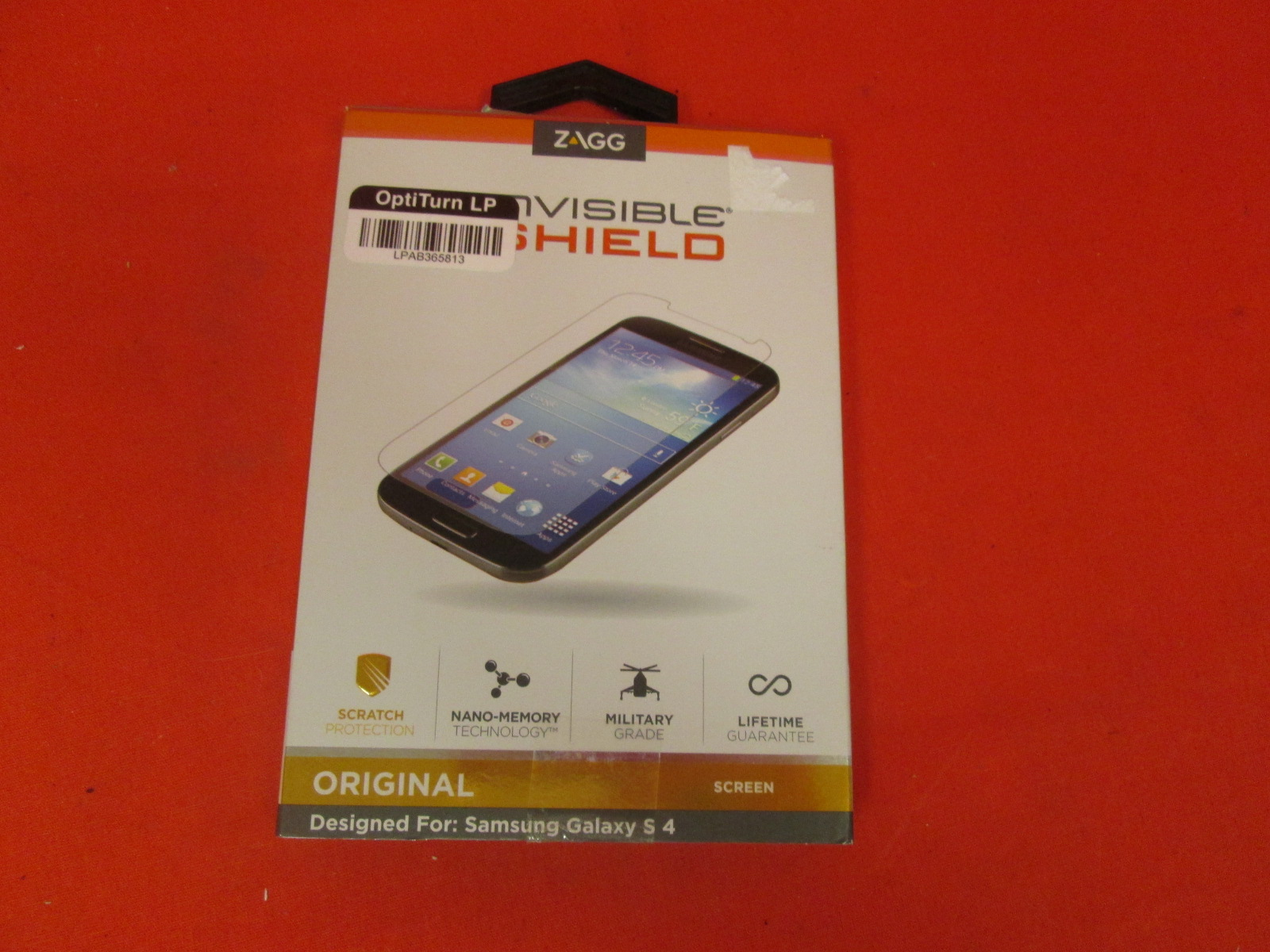 ZAGG Invisibleshield Original Screen Protector For Samsung Galaxy S4