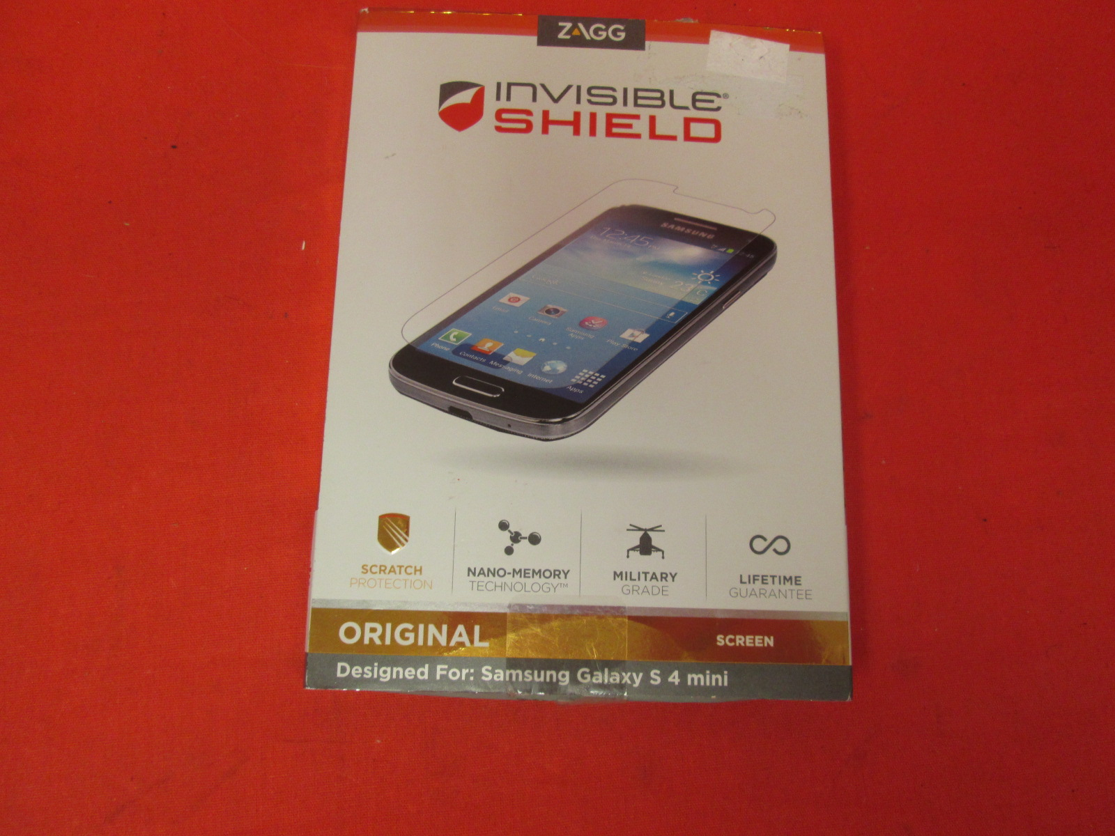 ZAGG Invisibleshield For Samsung Galaxy S4 Mini