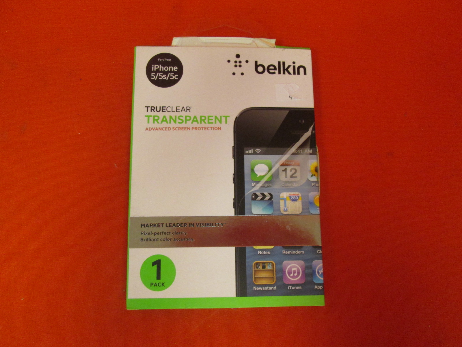 Belkin 1PACK Trueclear Transparent Advanced Screen Protection For