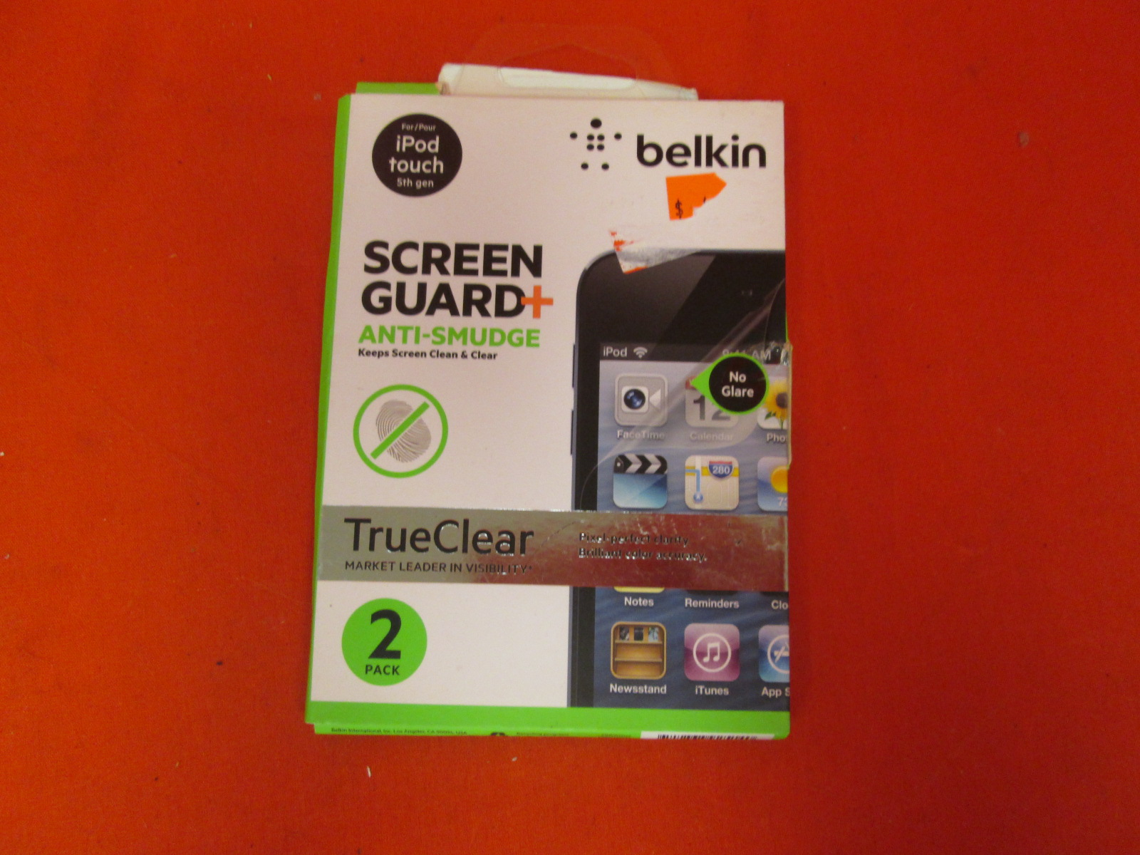Belkin Screen Guard Anti-Smudge Overlay Screen Protector For Apple
