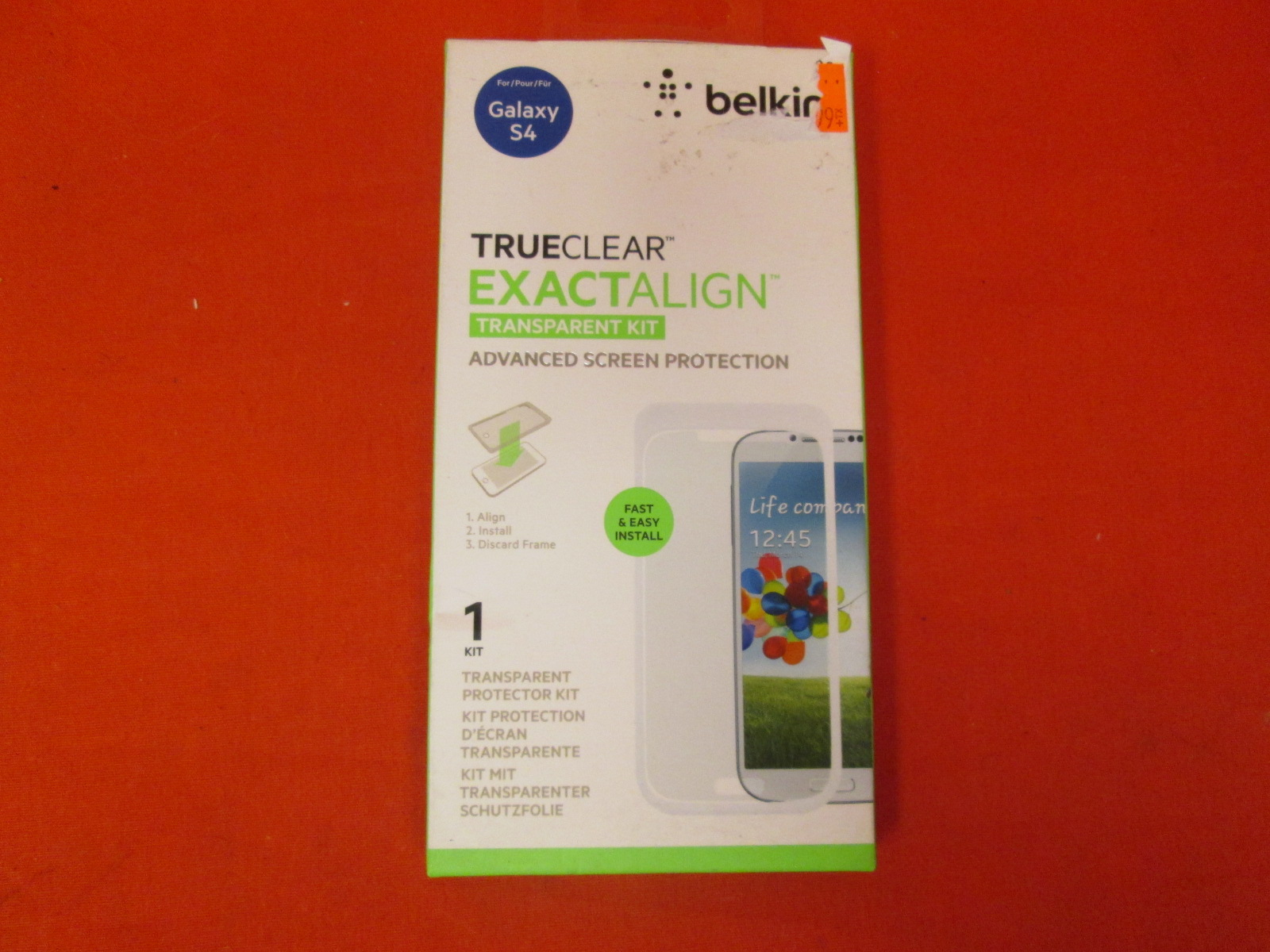 Belkin Trueclear Exactalign Transparent Kit Advanced Screen Protection