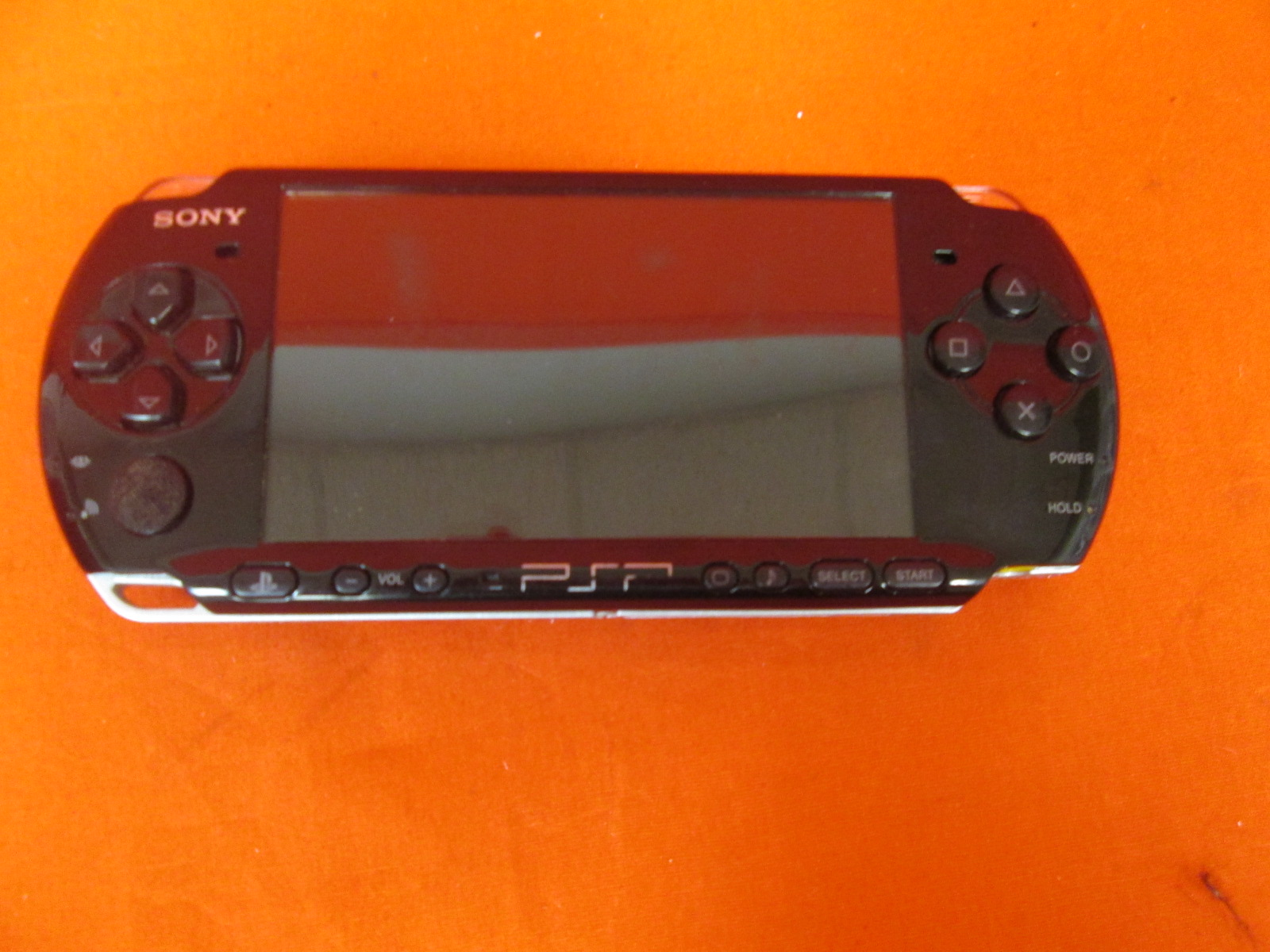 PlayStation Portable 3000 Core Pack System Piano Black Incomplete
