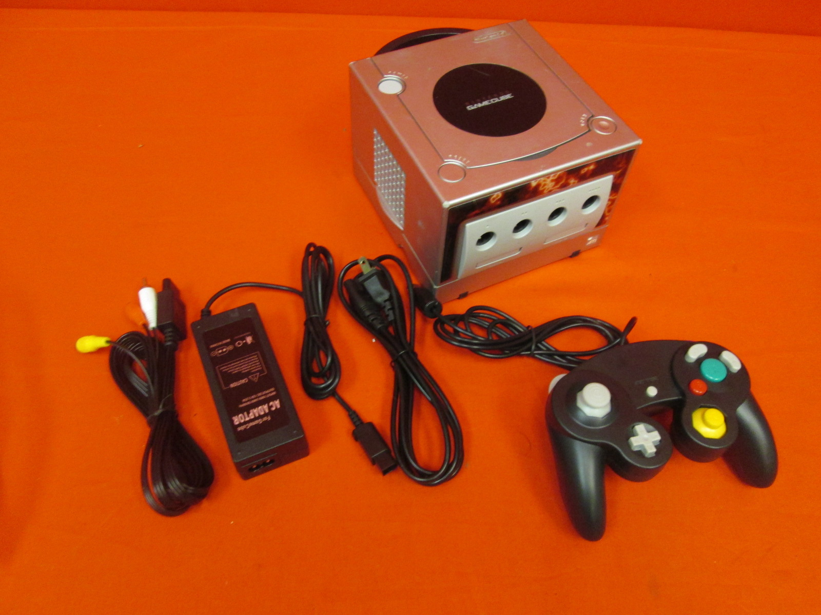 GameCube Video Game Console Platinum With Controller