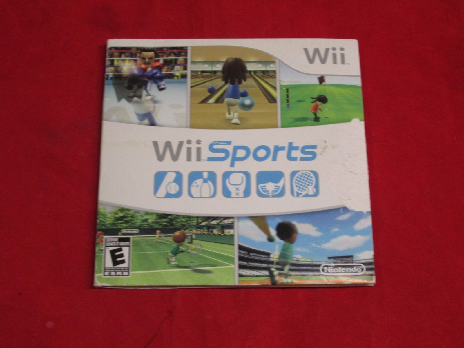 Wii Sports Game With Tennis Bowling Golf Games