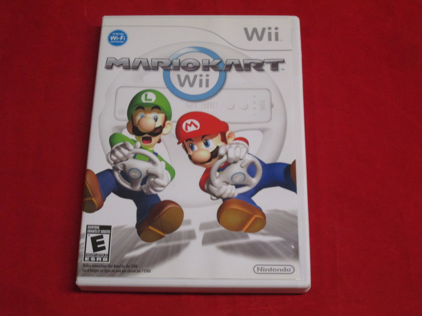 Mario Kart For Wii Racing With Manual and Case