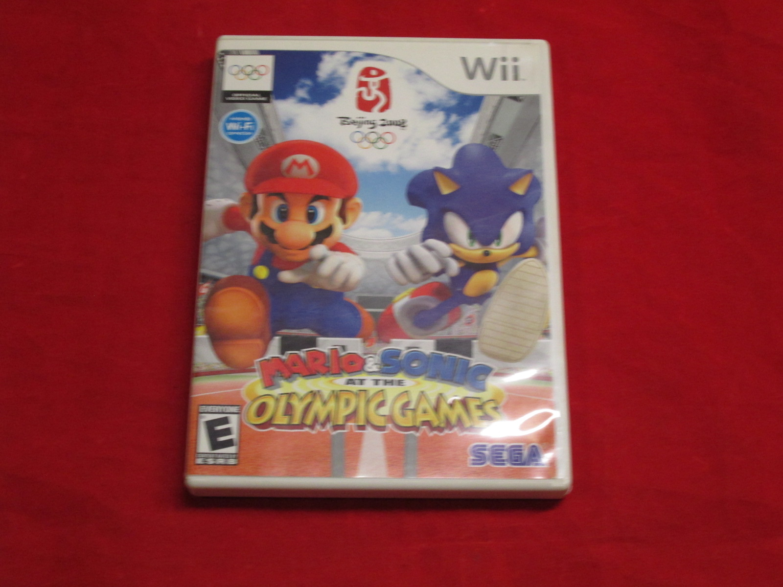 Mario And Sonic At The Olympic Games Nintendo Wii With Manual and Case