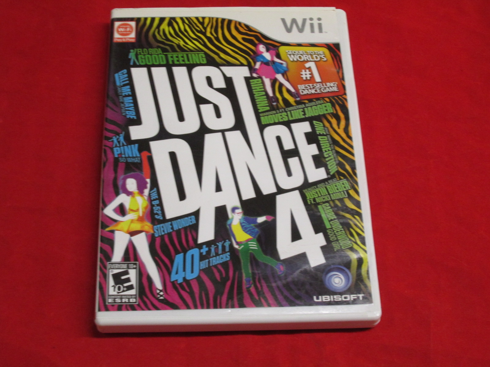 Just Dance 4 For Nintendo Wii With Manual and Case