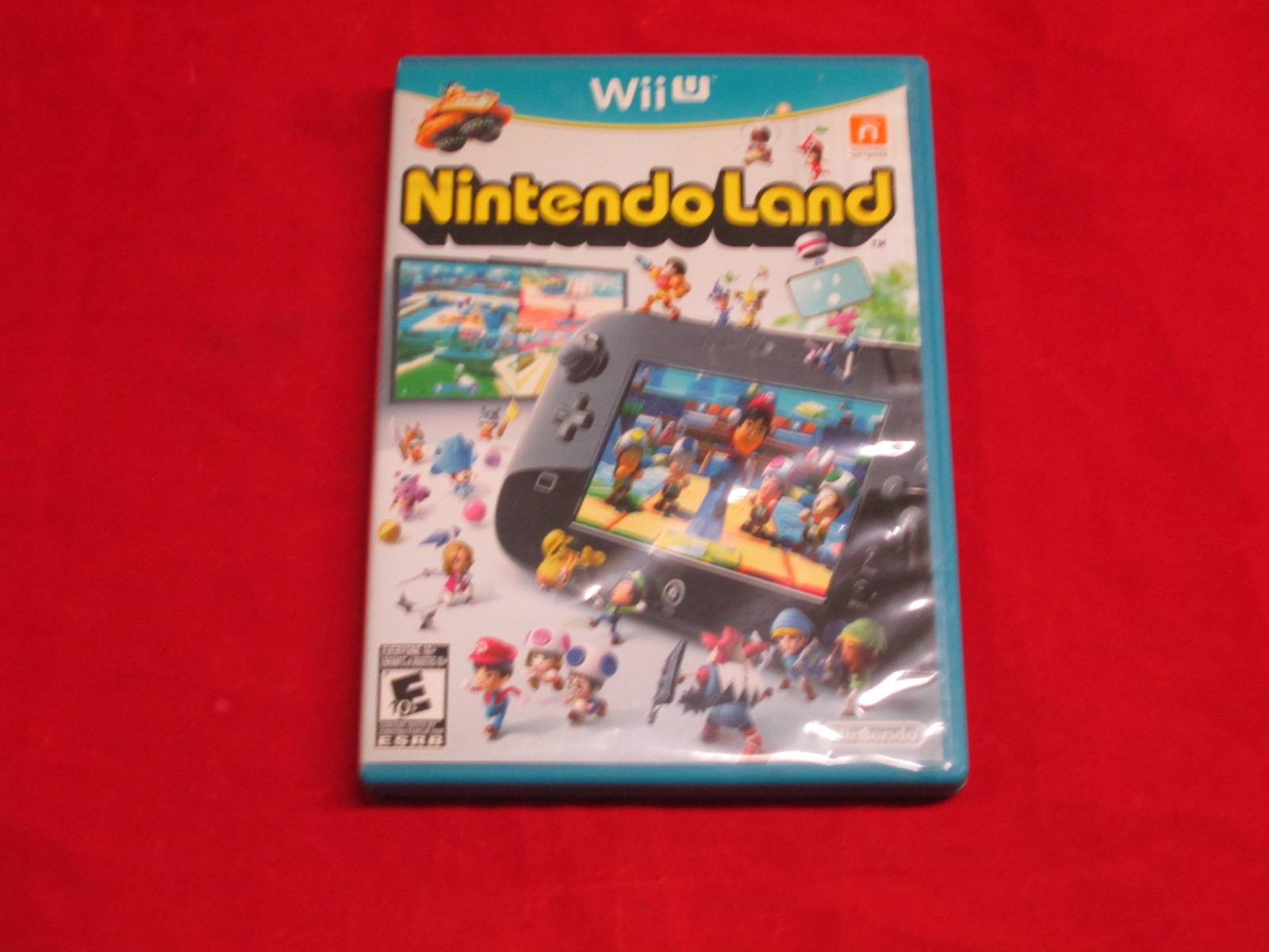 Nintendoland For Wii U With Manual and Case