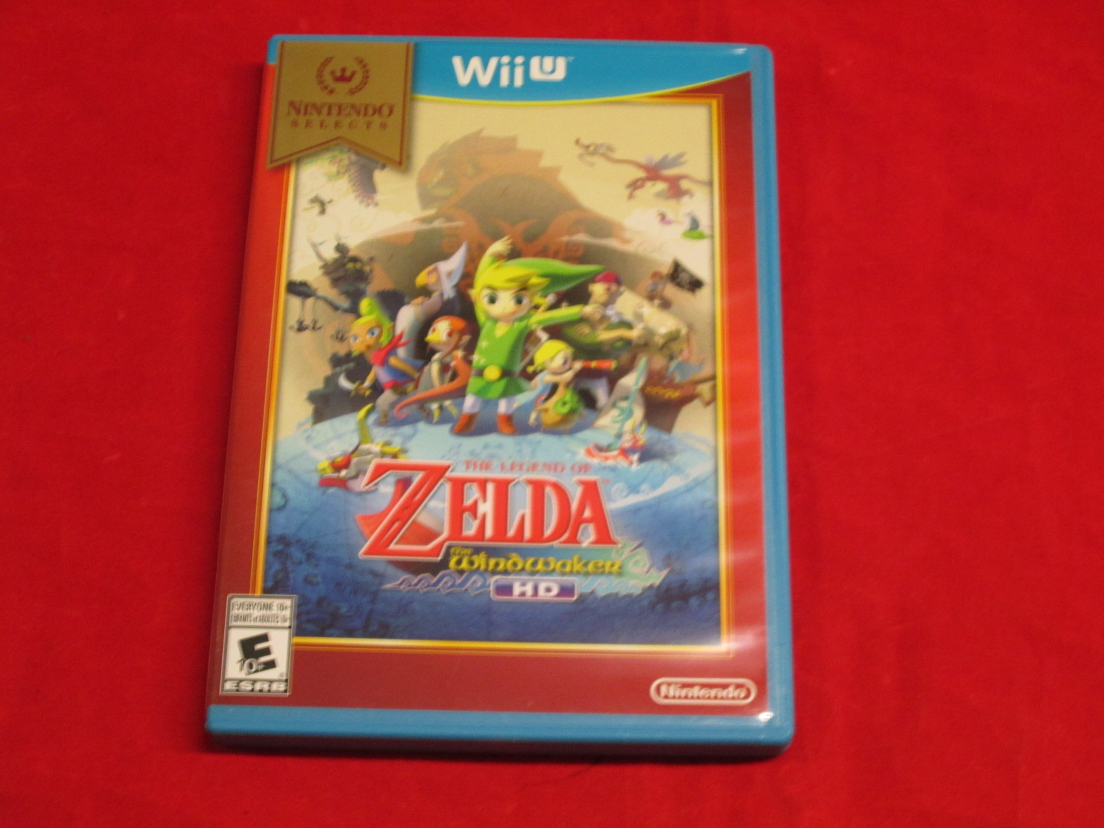 Nintendo Selects: The Legend Of Zelda: The Wind Waker HD For Wii U