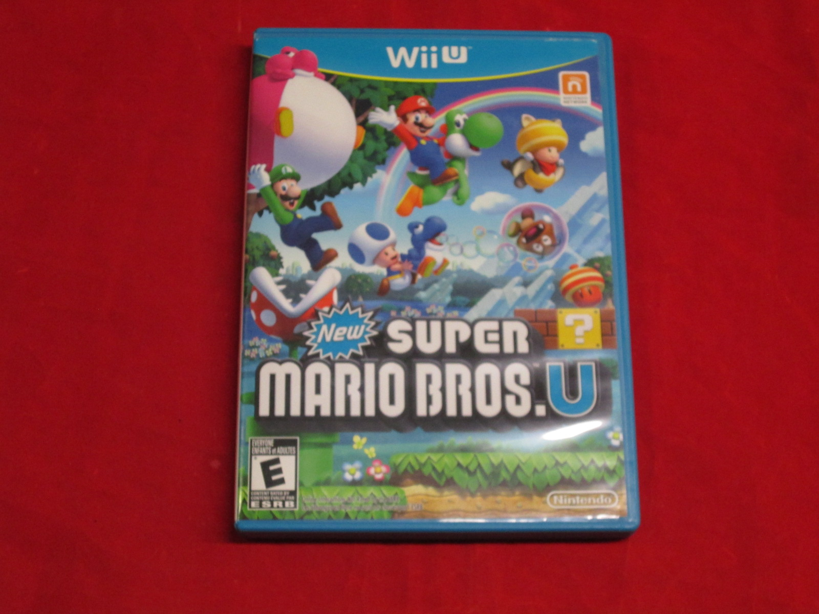 New Super Mario Bros U For Wii U With Manual And Case