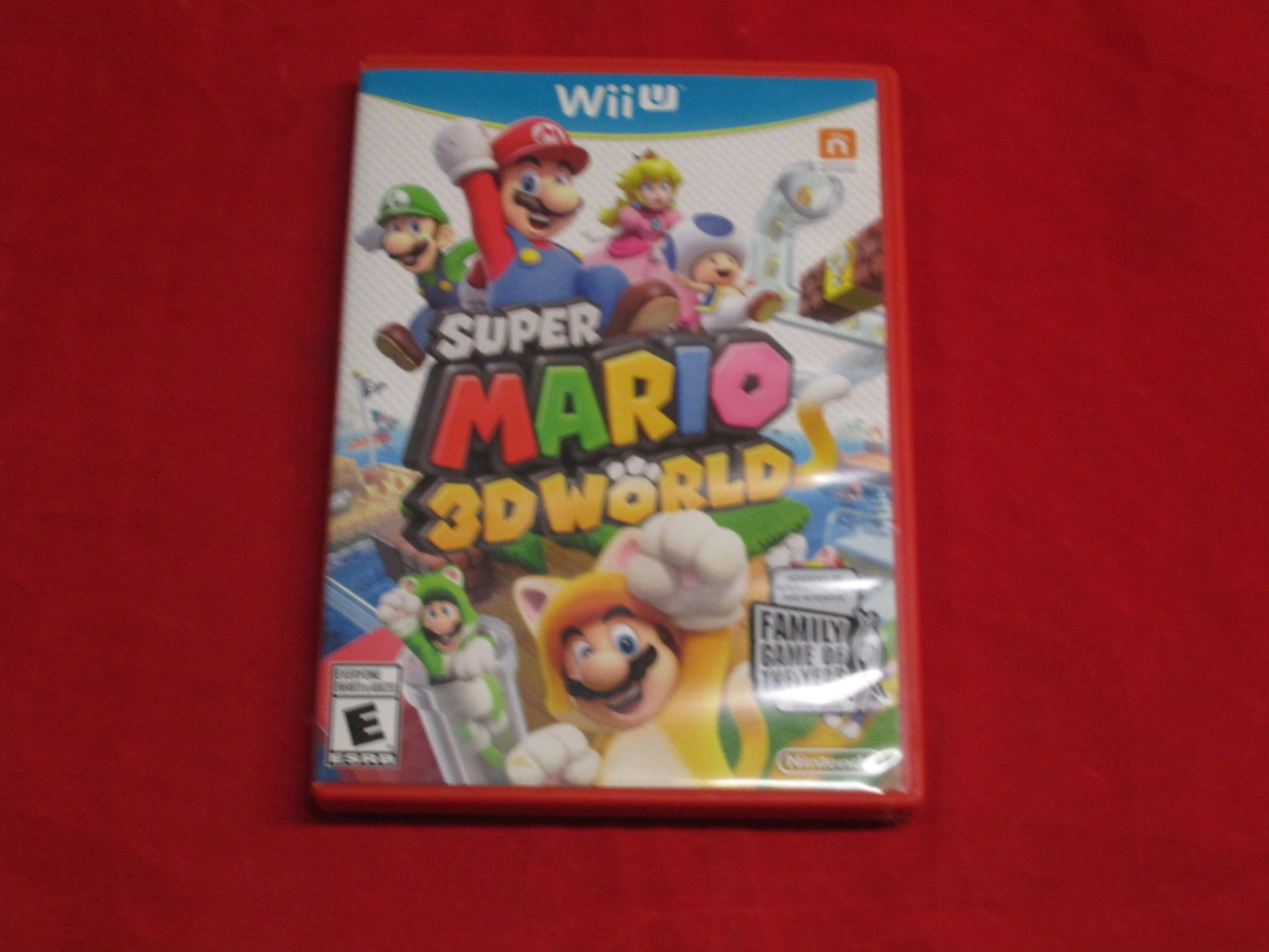 Super Mario 3D World Nintendo Wii U With Manual and Case