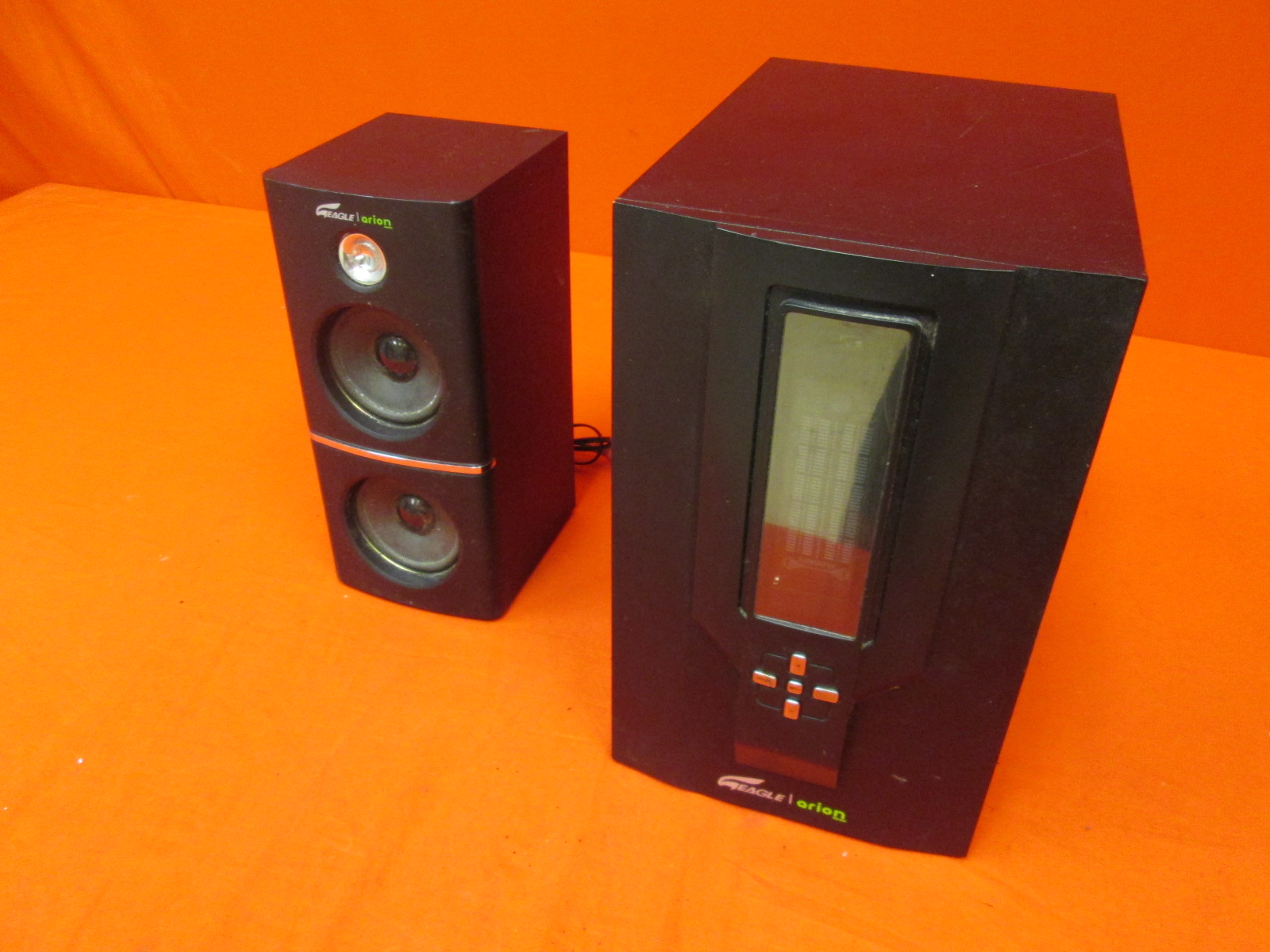 Arion Legacy AR504LR-BK 2.1 Speaker System With Subwoofer Incomplete
