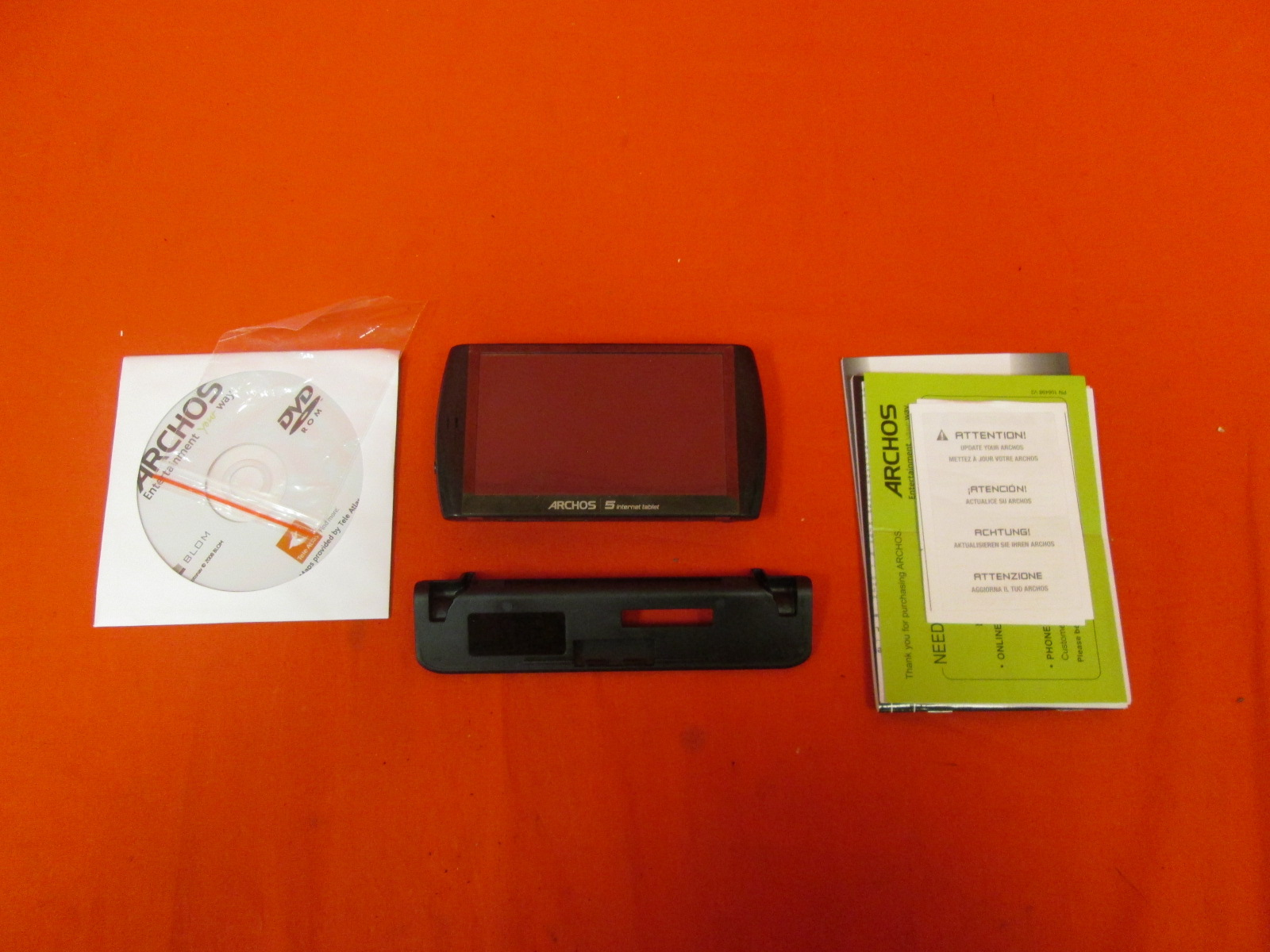 Archos 5 16GB Internet Tablet With Android Black