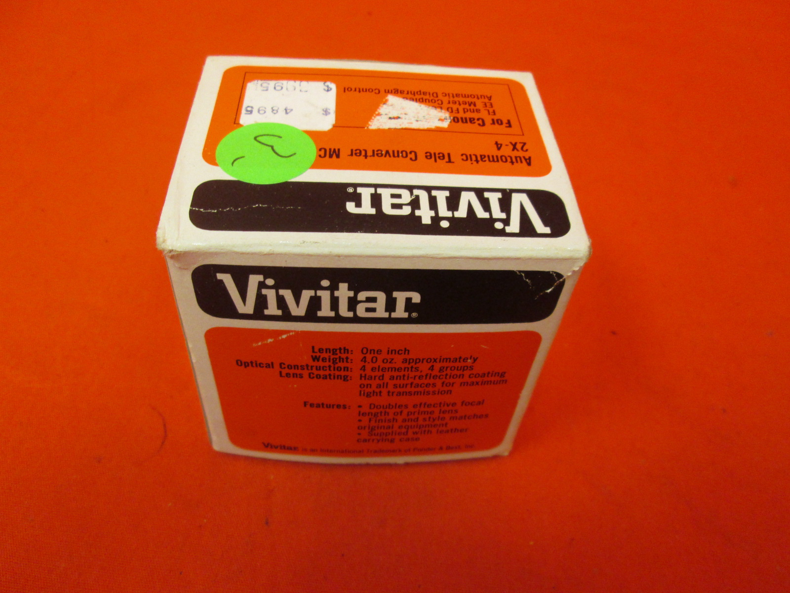 Vivitar Dedicated Processor Module Dm/n For Nikon Em Cameras 230234926