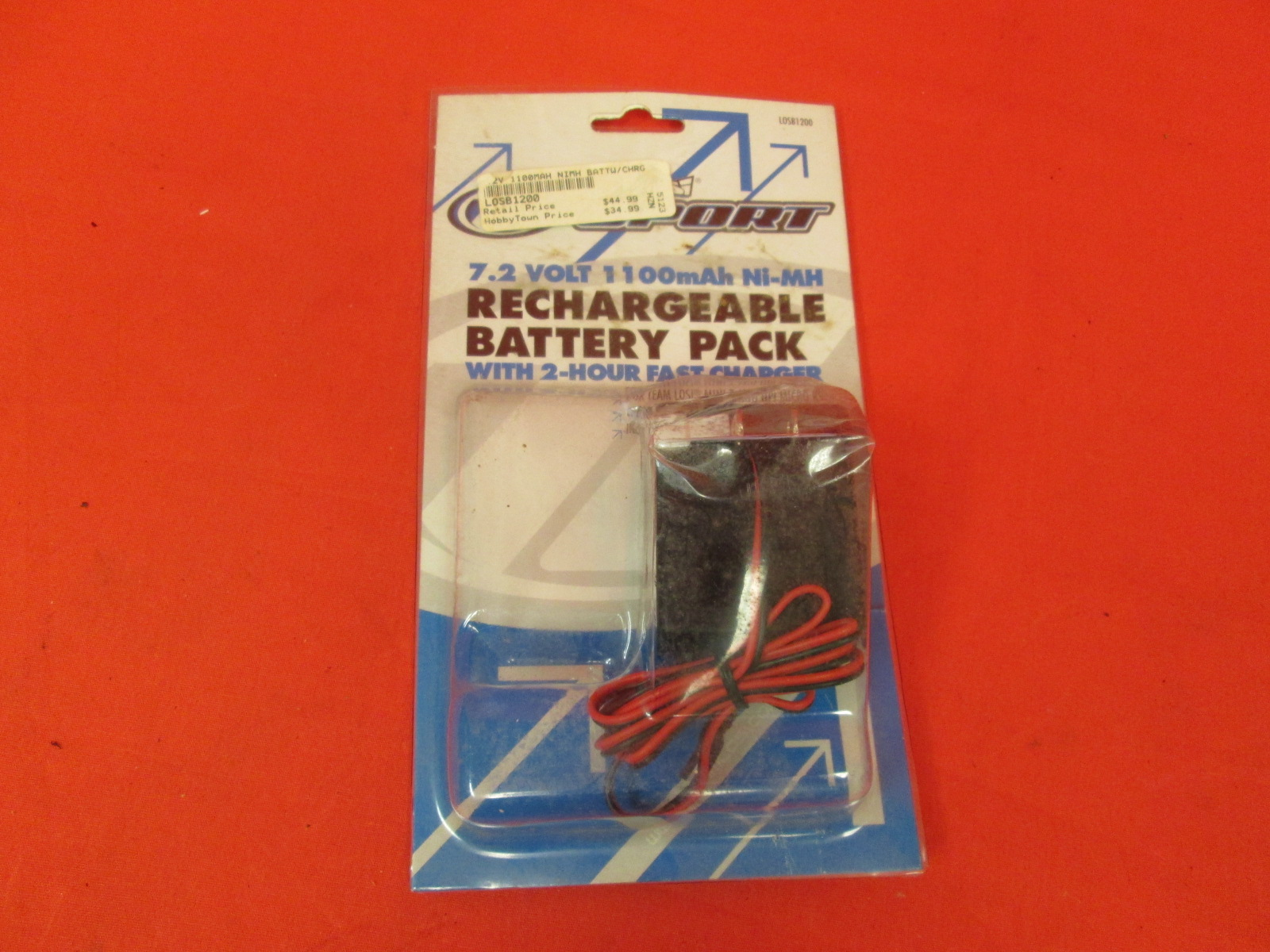 7.2 Volt 1100MAH Ni-Mh Rechargeable Battery Pack Toy