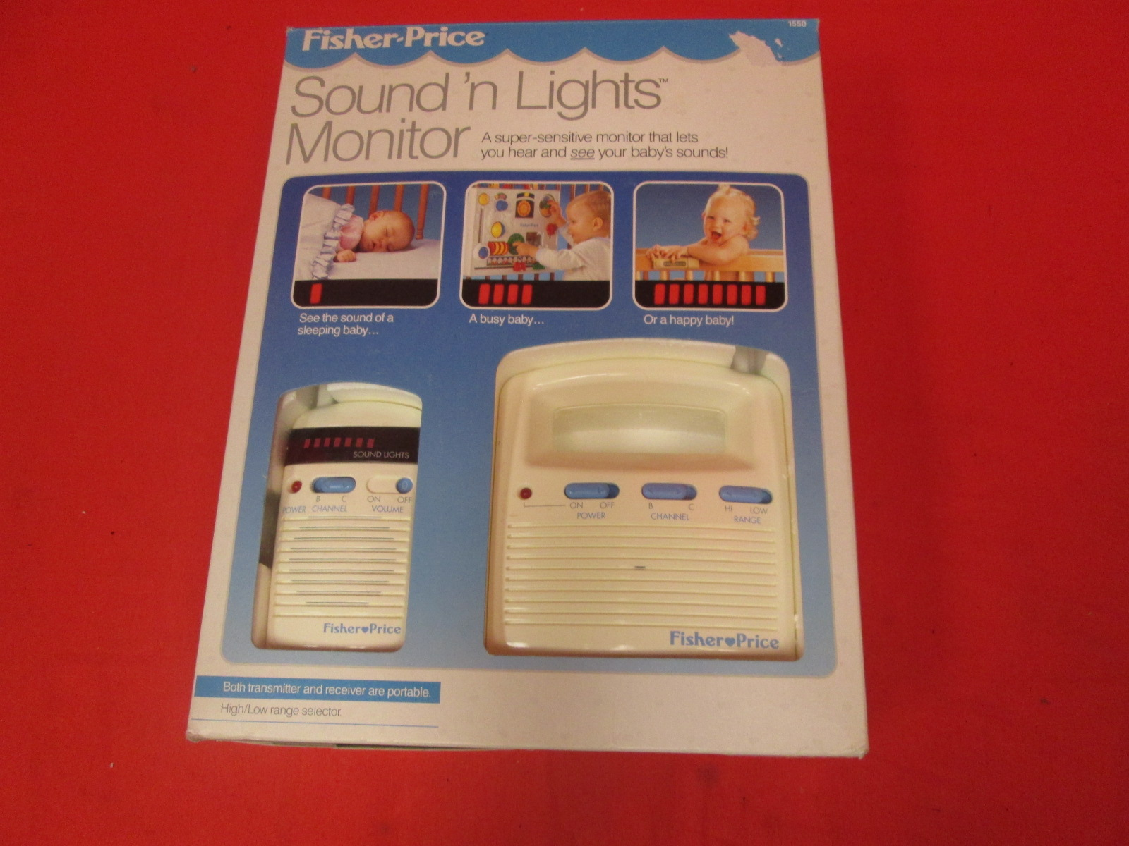 Fisher-Price Sounds N Lights Baby Monitor