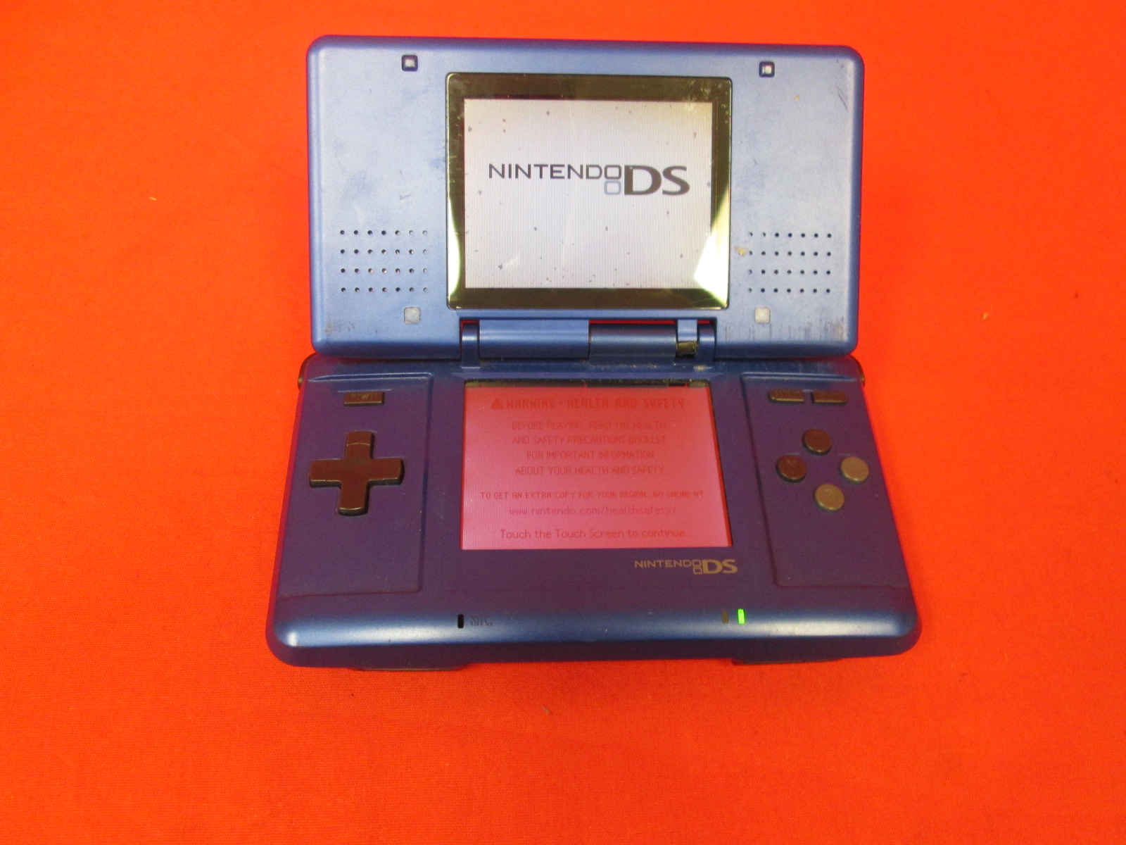 Nintendo DS Electric Blue Video Game System