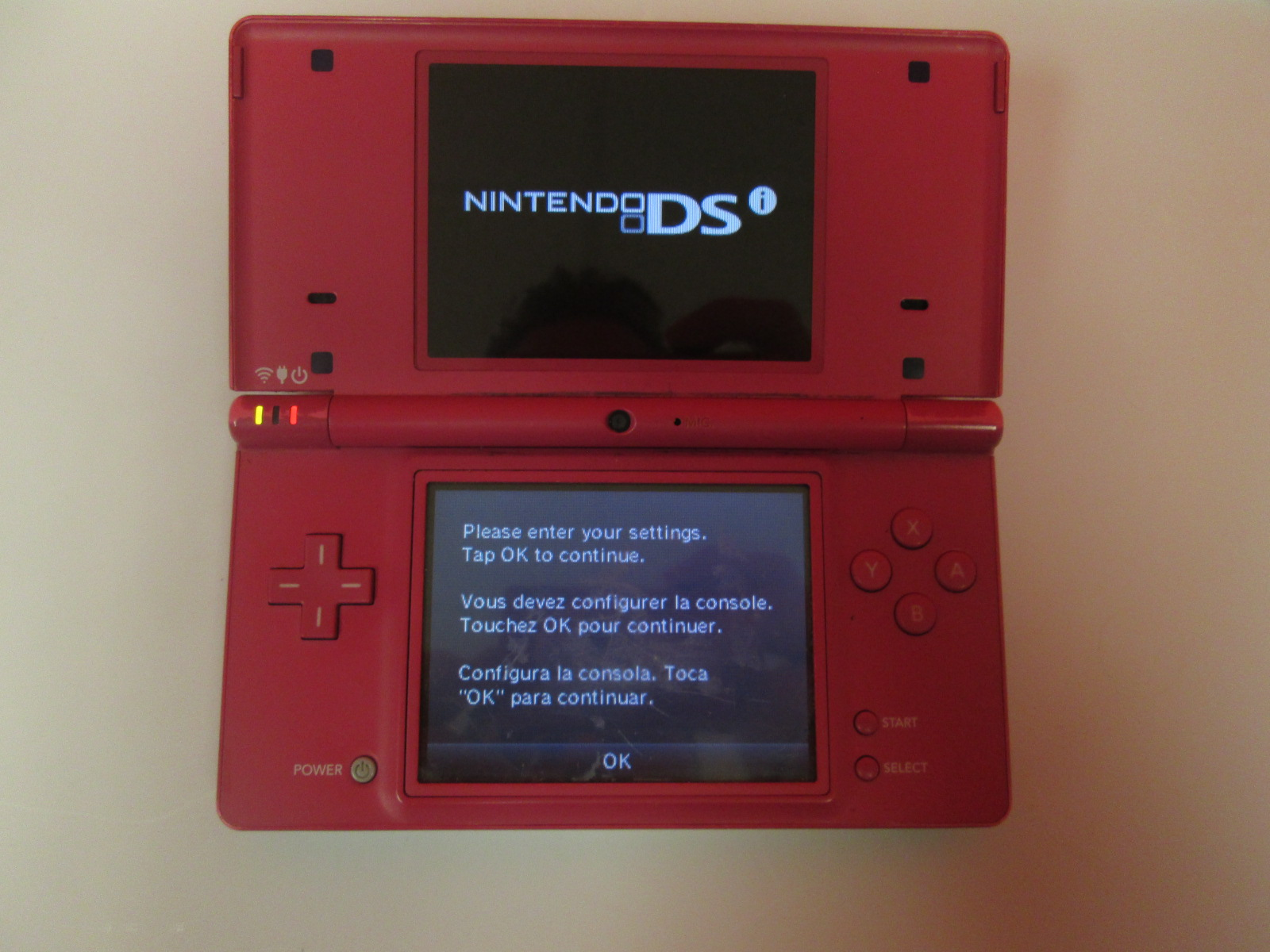 Nintendo DSi Pink Handheld Portable Console System