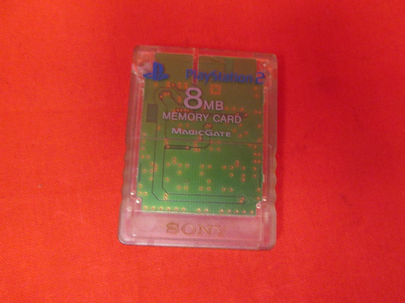 Memory Card 8MB For PlayStation 2