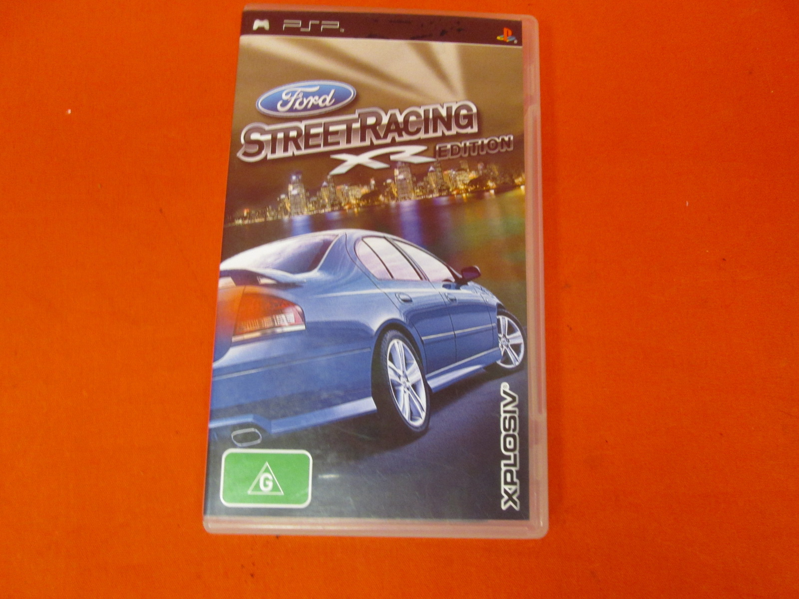 Ford Street Racing Xr Edition Region 4 Only For PSP