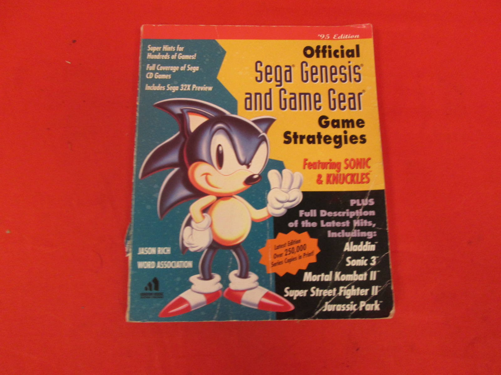 Official Sega Genesis And Game Gear Game Strategy '95 Edition Strategy