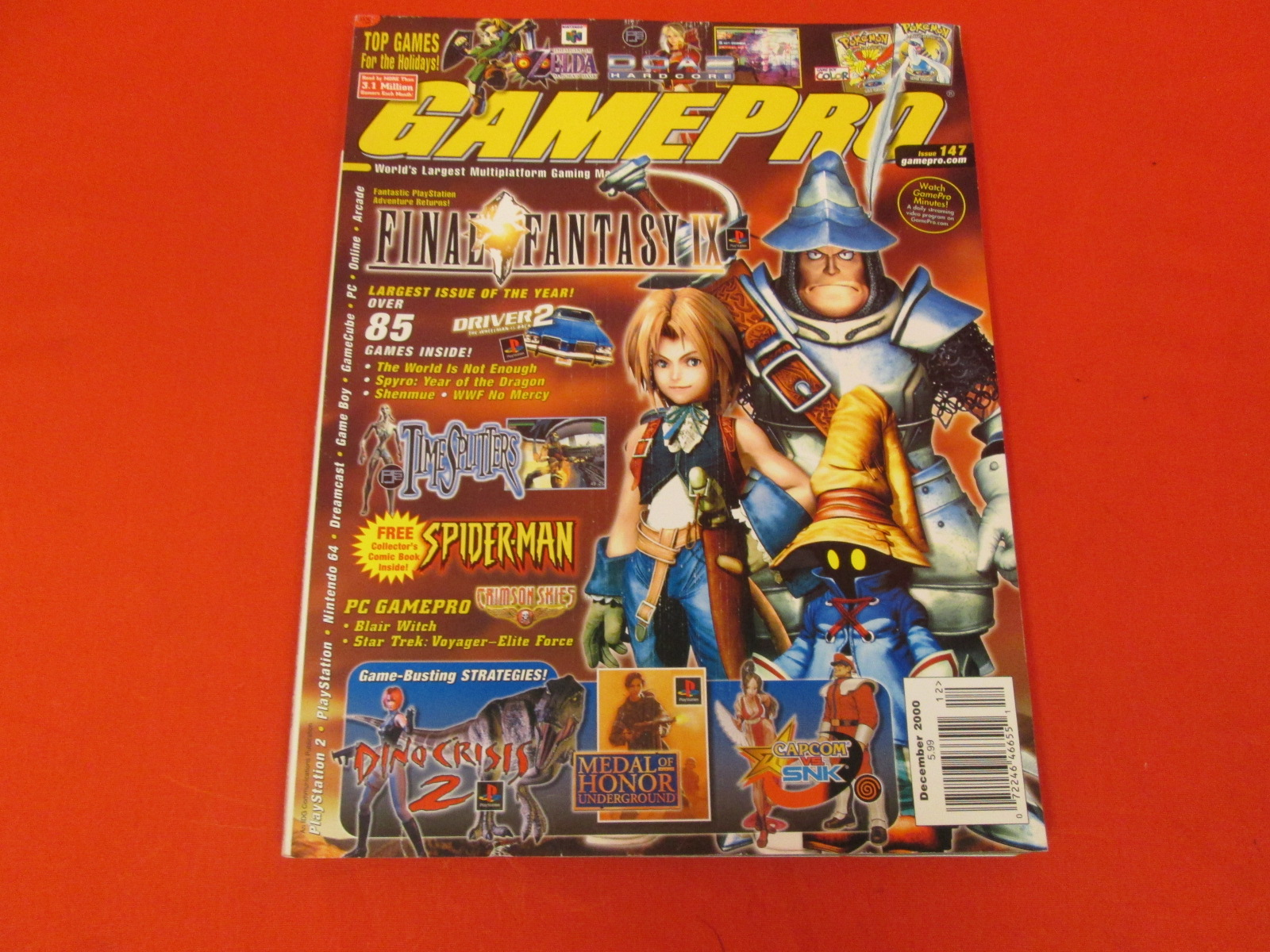 Gamepro Magazine #147 December 2000 Strategy Guide