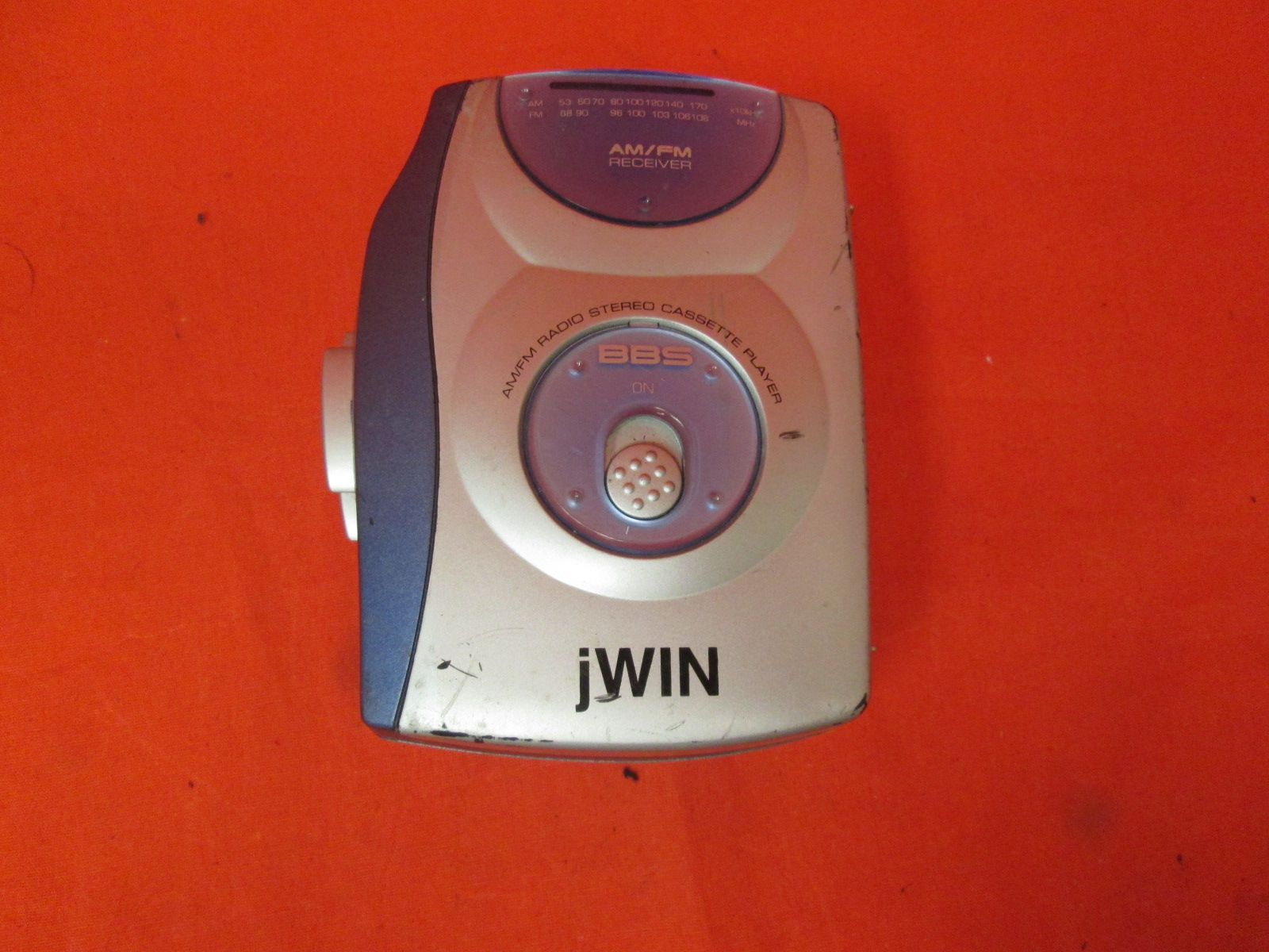 Jwin JX-B32A AM/FM Stereo Cassette Player With Bass Boost Jwin JXB32A