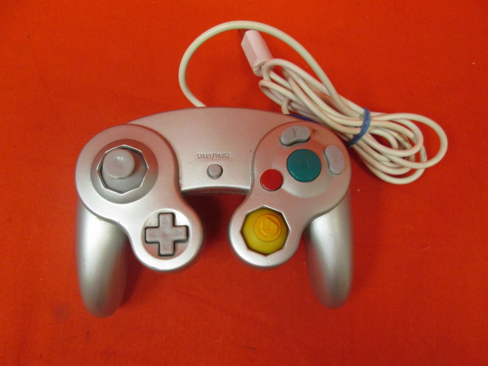 Ganeric Platinum Silver Controller For GameCube