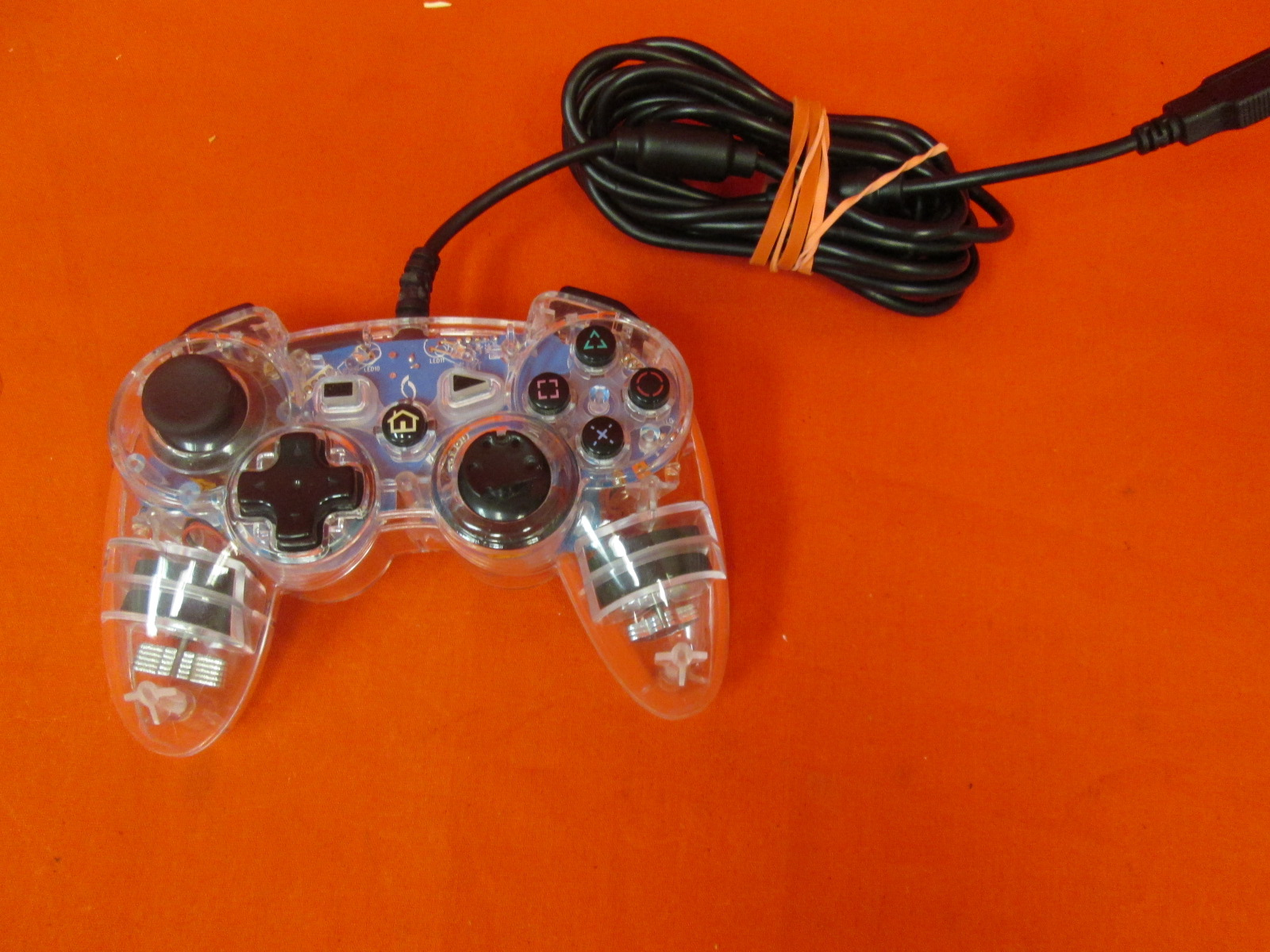 Generic Wired Controller Clear For PlayStation 3