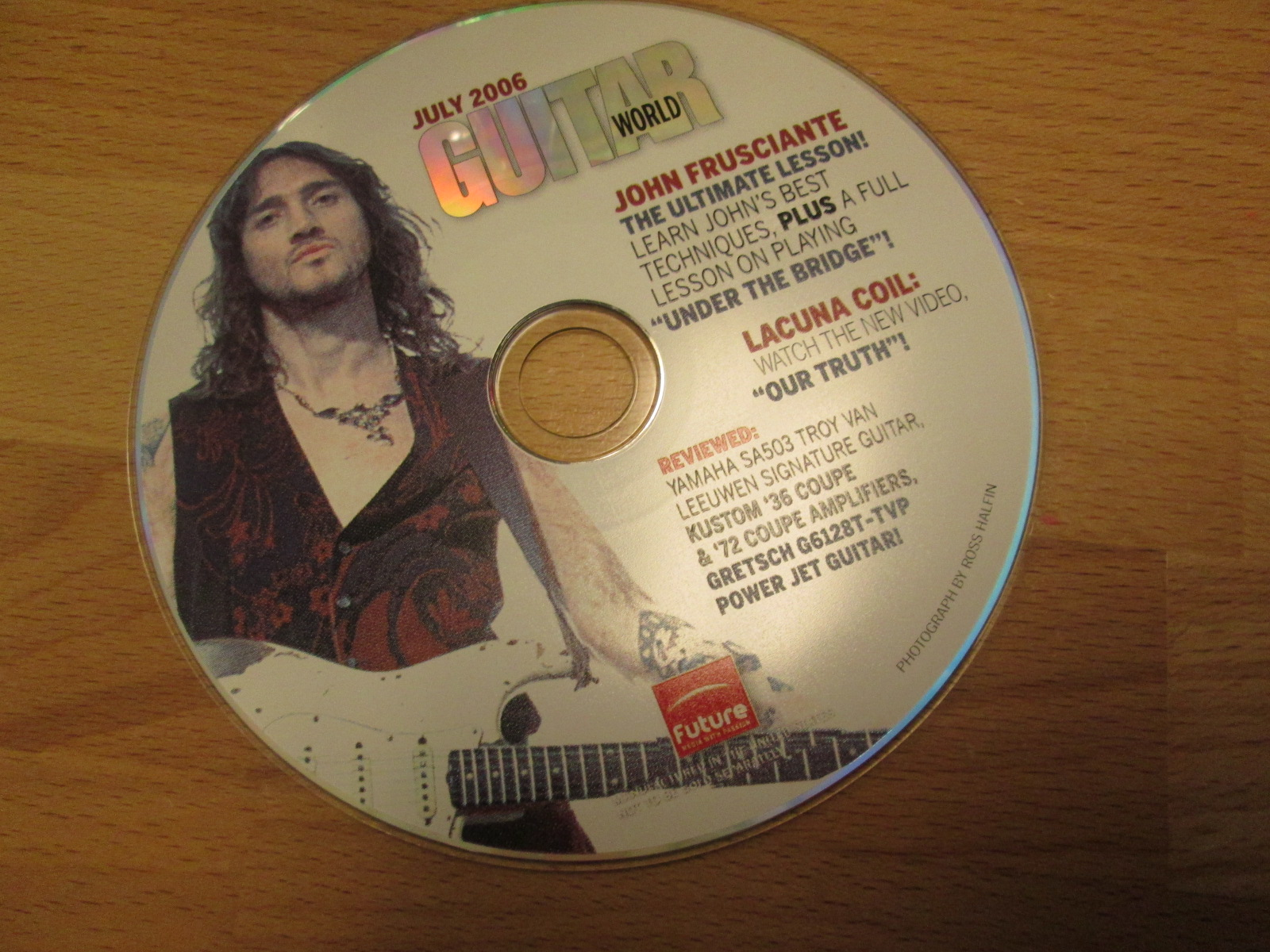 Guitar World CD-Rom July 2006 Featuring John Frusciante And Lacuna