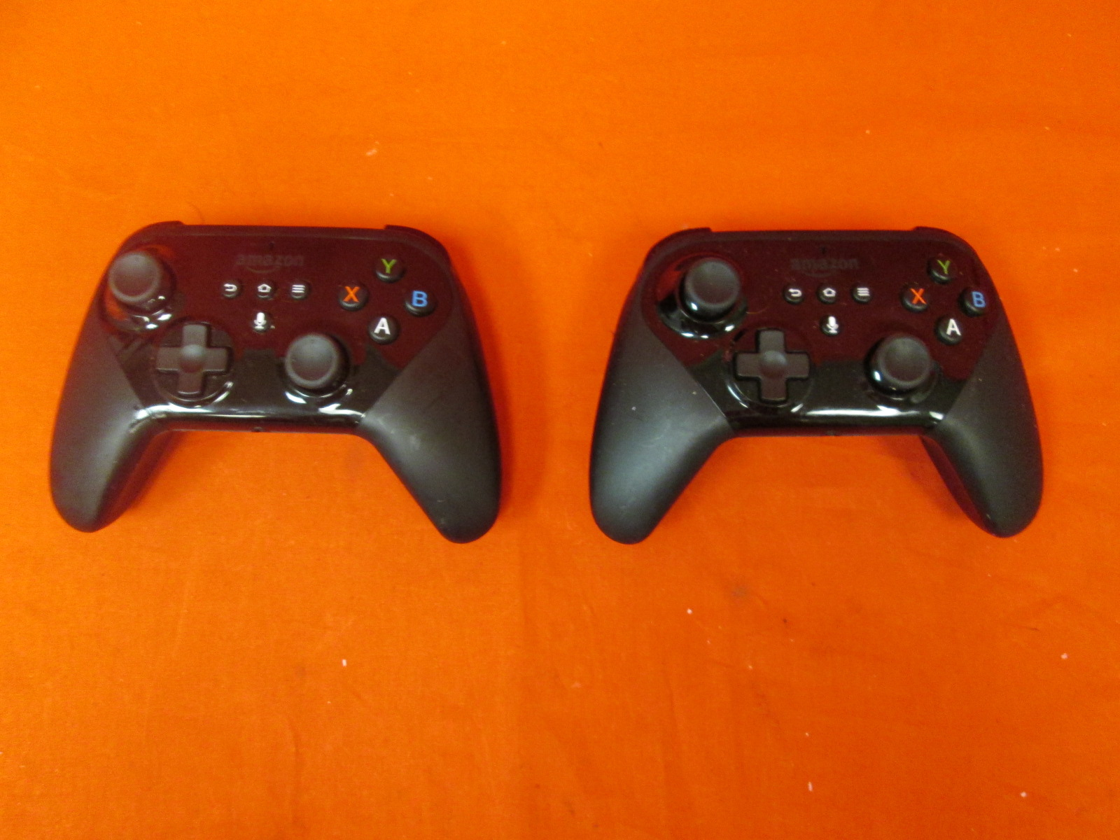 Broken Lot Of 2 Amazon Fire TV Game Controllers