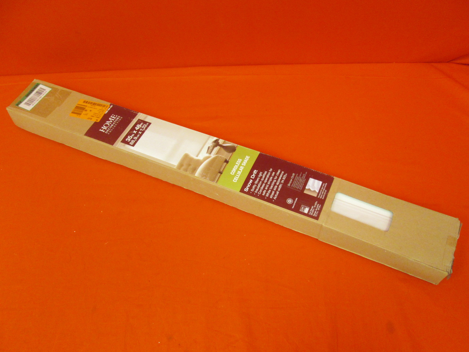 Home Decorators Collection Cut-To-Width Cordless Cellular Shade 33 X 4