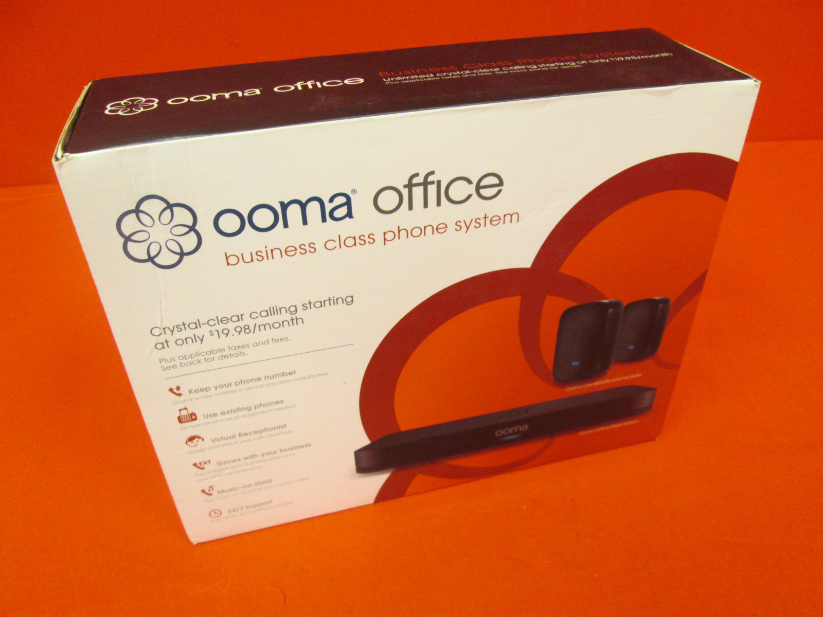 Ooma Office Business Phone System VoIP Phone And Device
