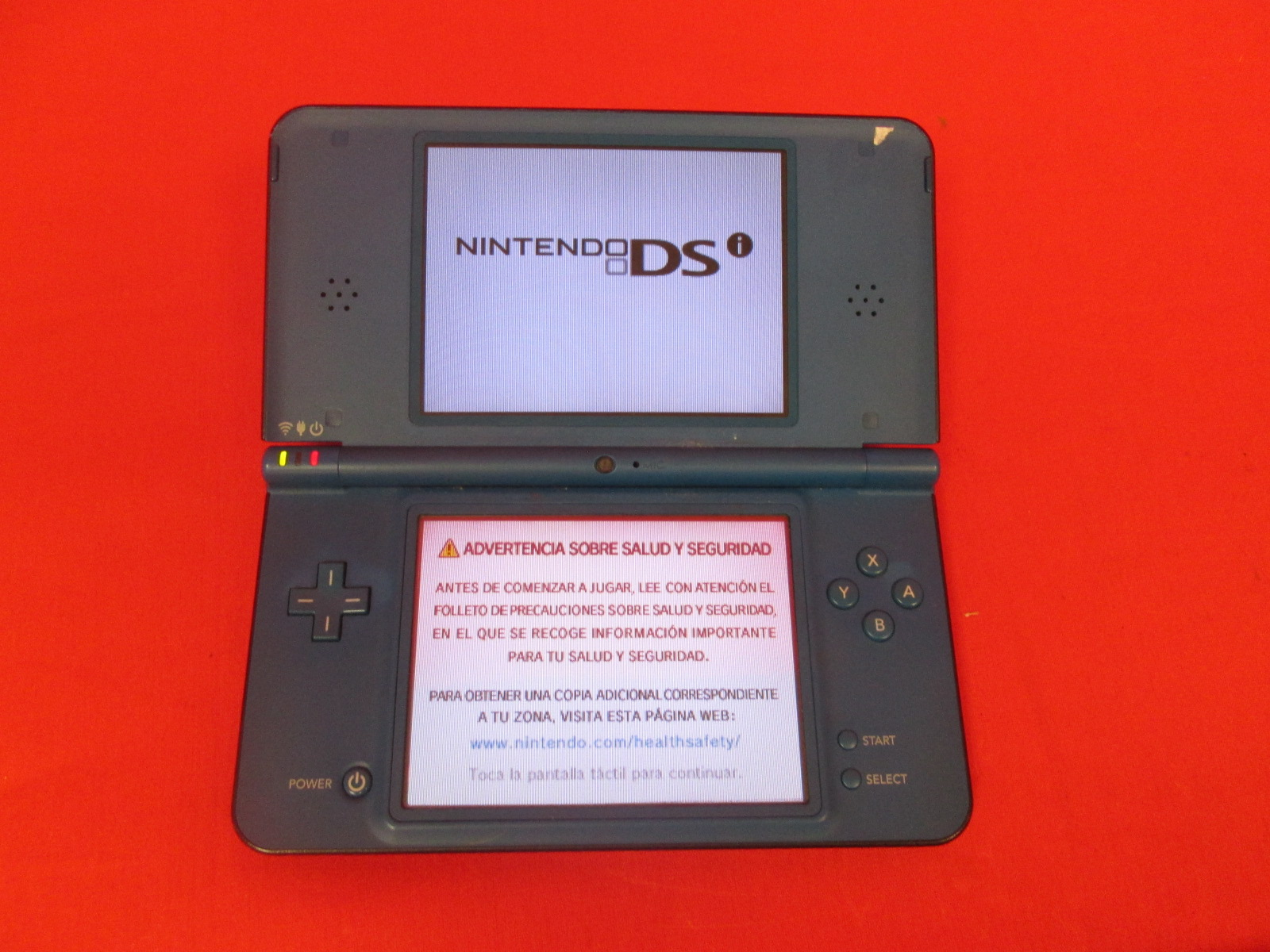 Nintendo DSi XL Midnight Blue Handheld Console