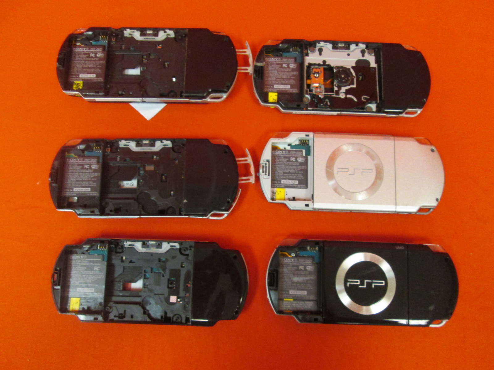 Broken Lot Of PSP Handheld Consoles Broken