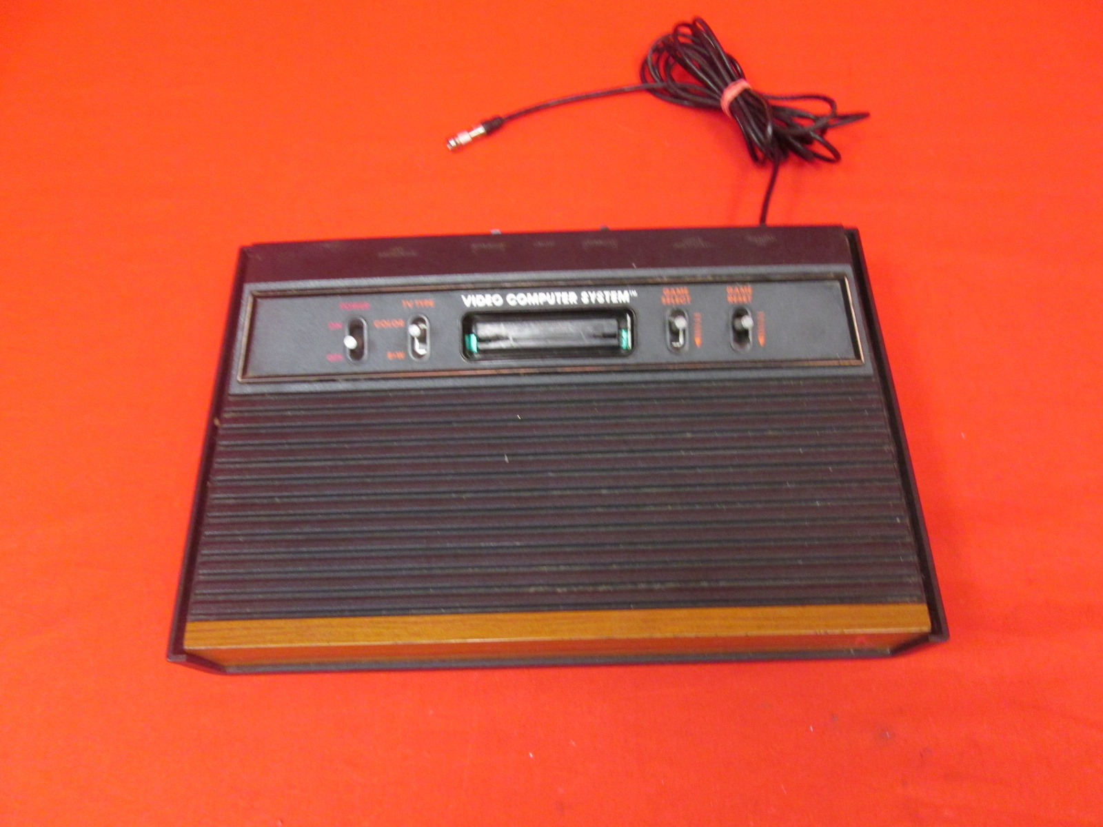 Atari 2600 Video Computer System Console Only Incomplete