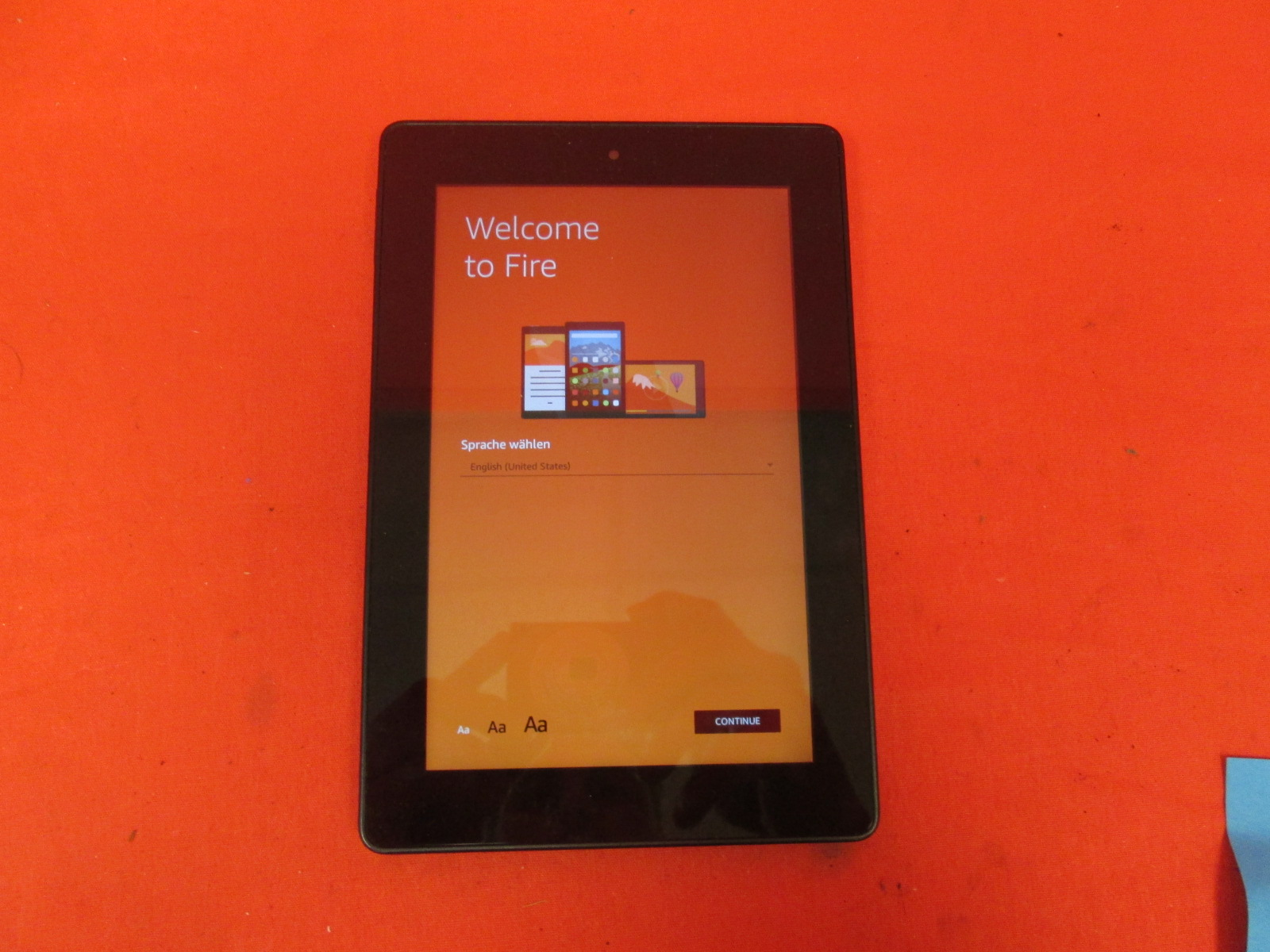 Kindle Fire HD 7 4th Generation Wi-Fi 7 Inch Tablet