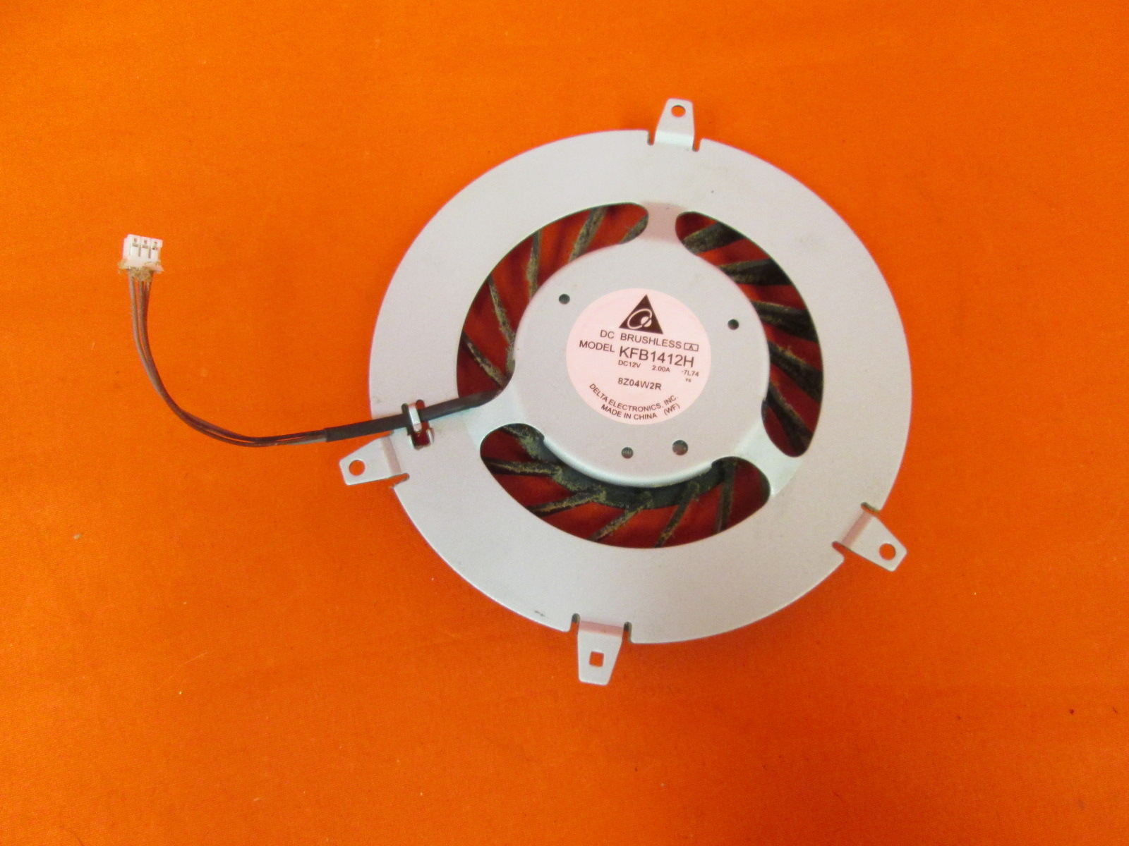 Original OEM Sony KFB1412H 17 Blade Internal Cooling Fan For PS3