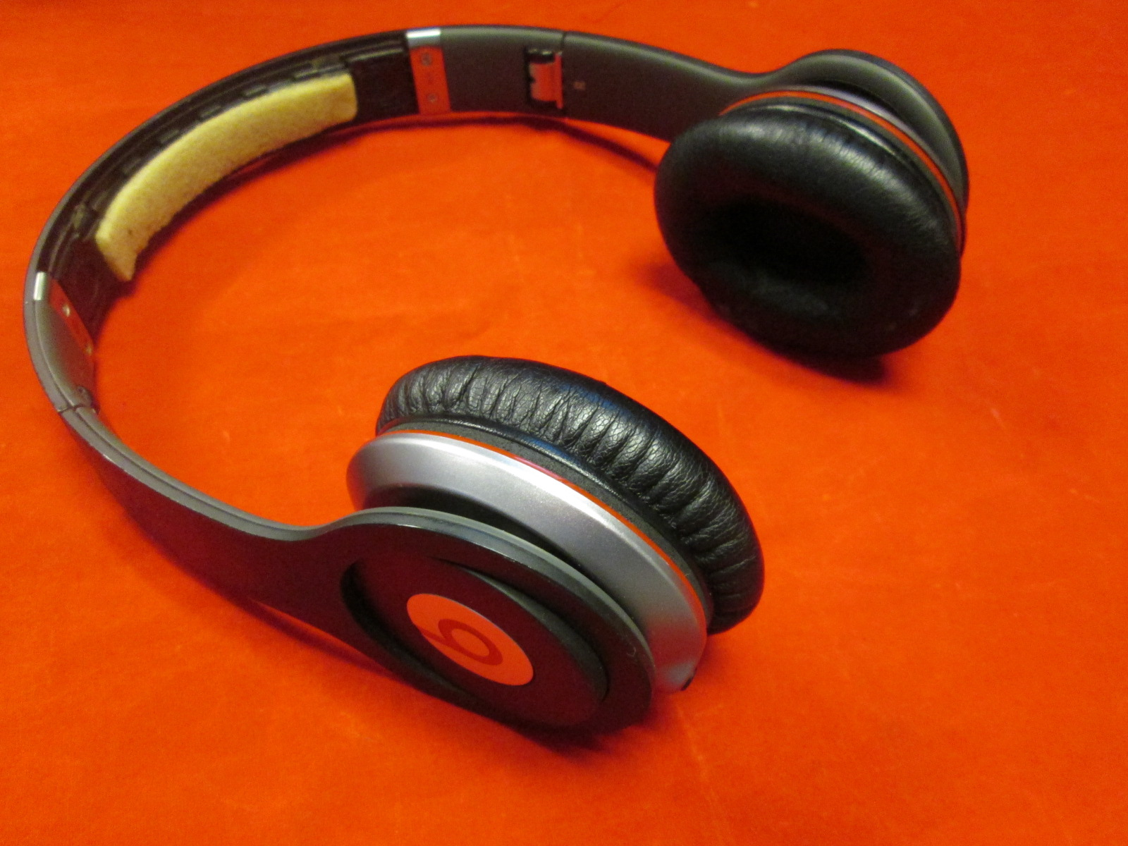 Beats Monster Solo Wired On-Ear Headphones Black