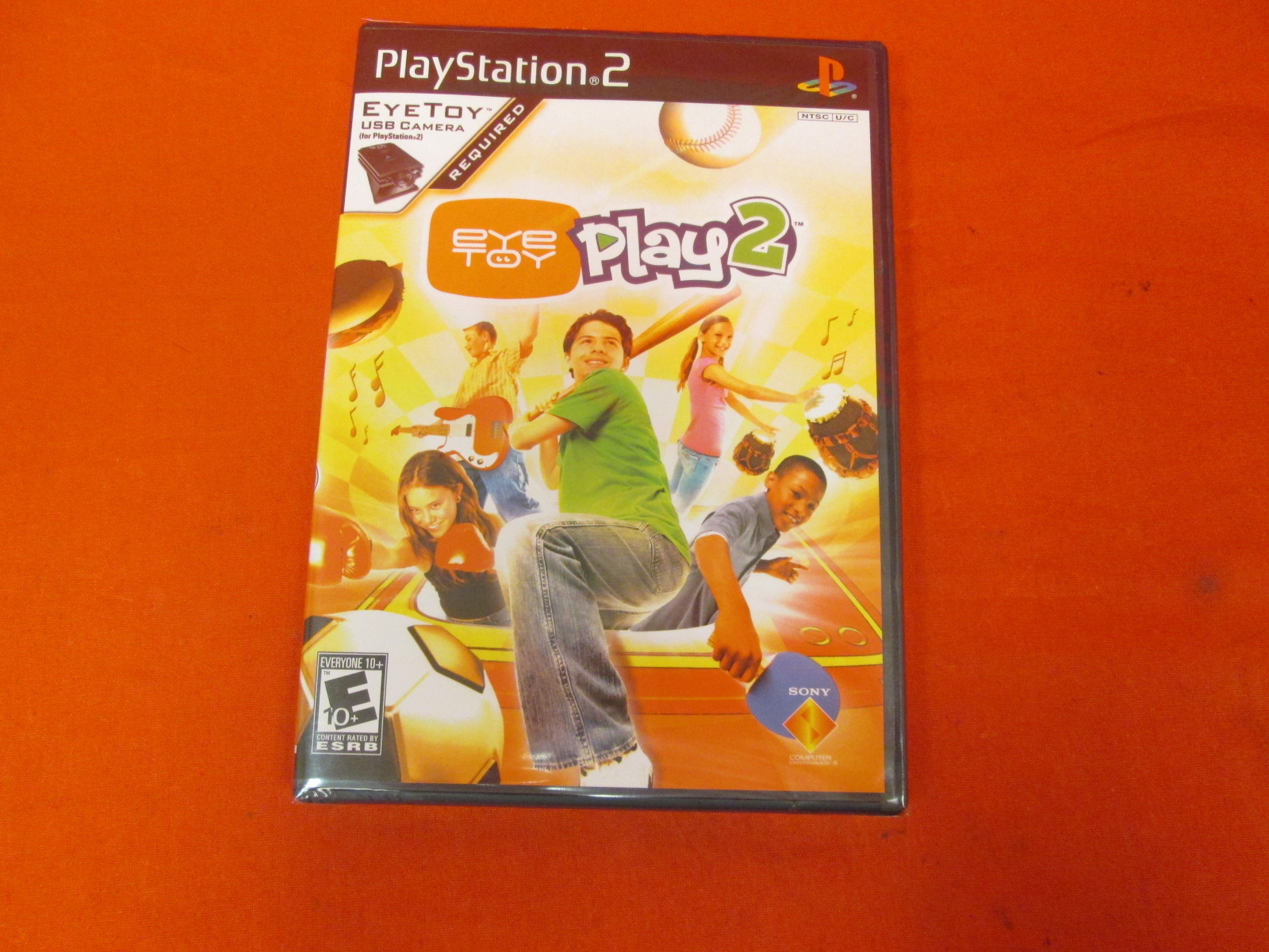 Eye Toy Play 2 Game Only For PlayStation 2