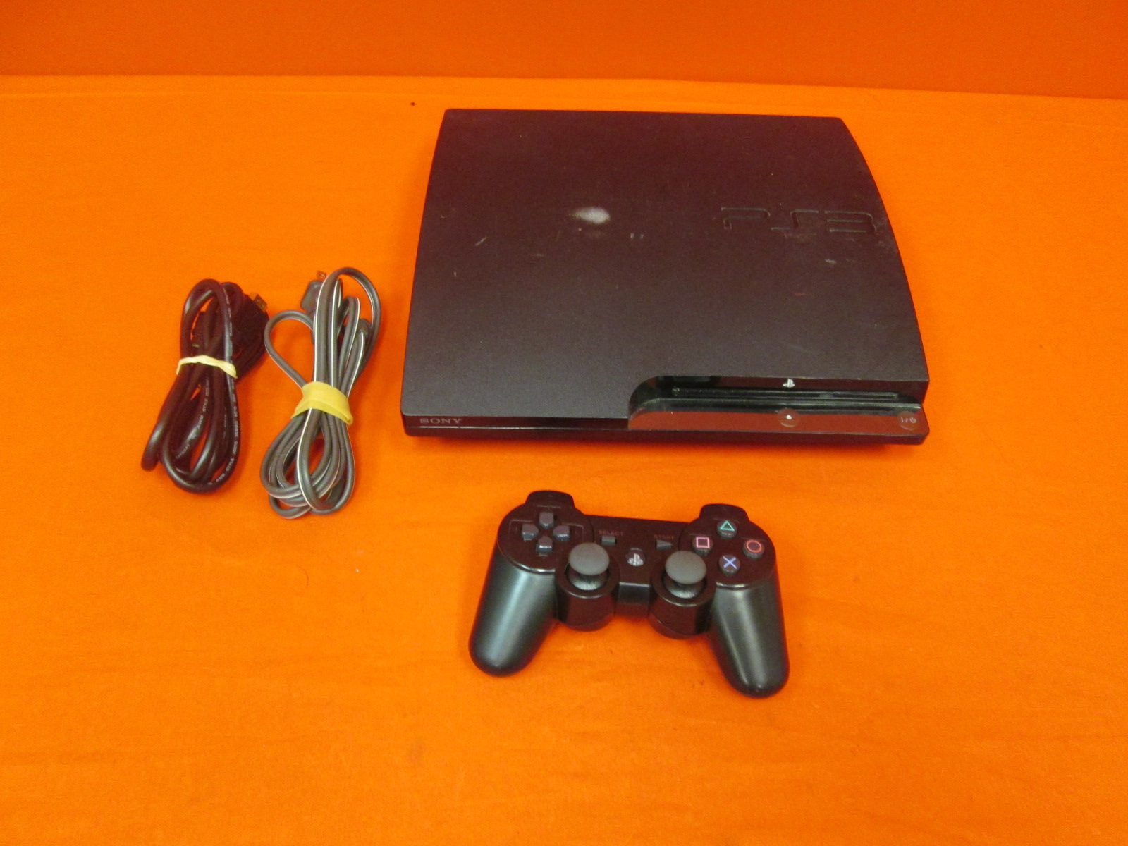PlayStation 3 Slim 120GB Video Game System With Controller