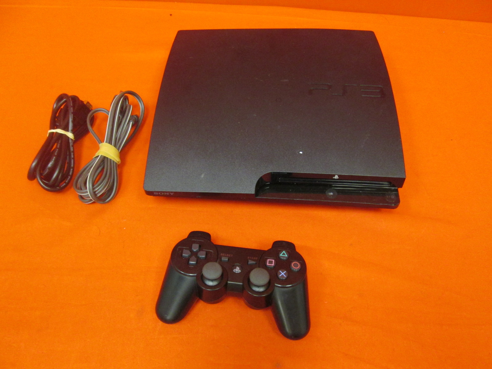 Broken Sony PlayStation 3 160GB System With Controller