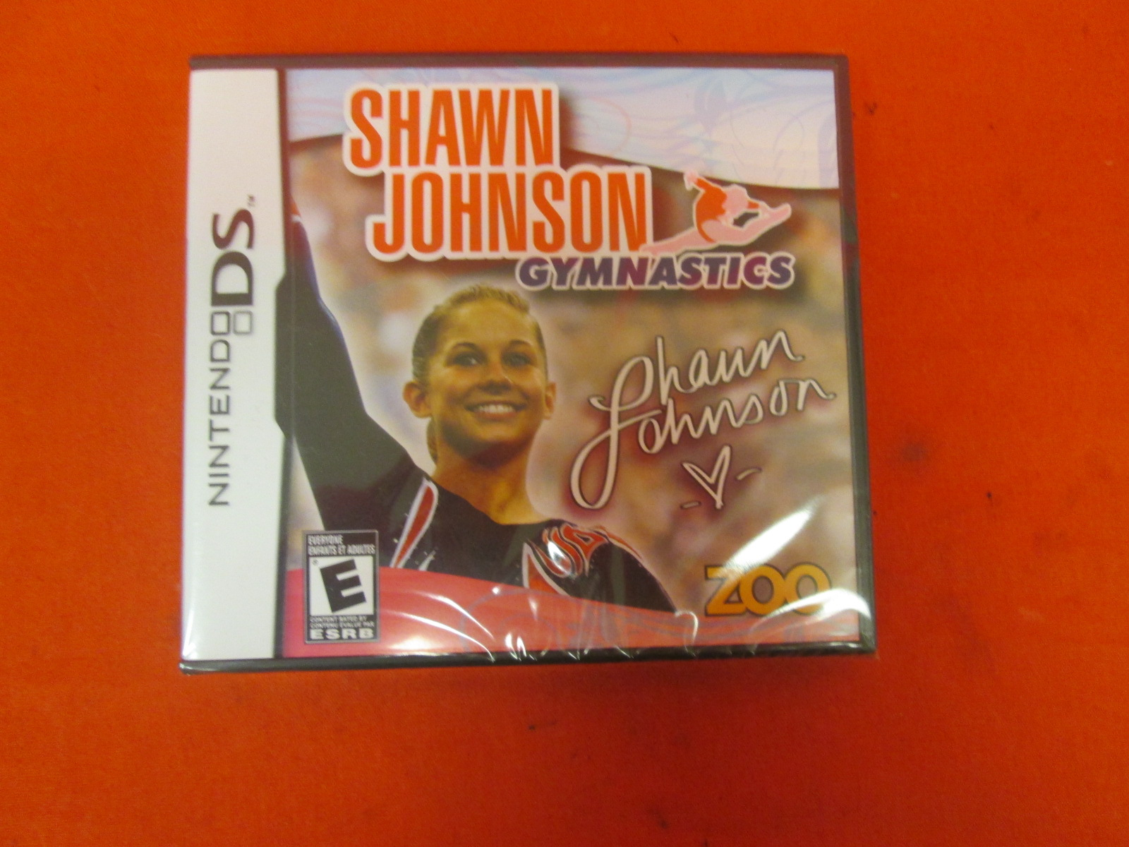 Shawn Johnson Gymnastics For Nintendo DS DSi 3DS 2DS