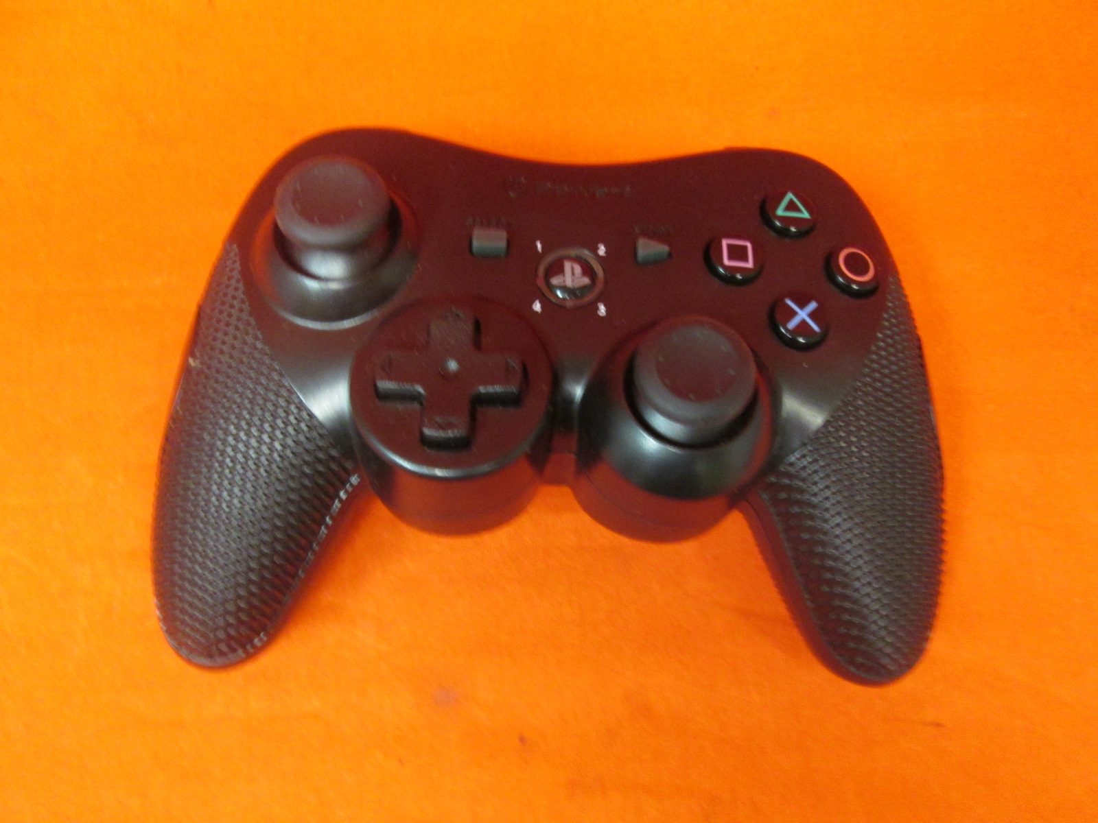 PowerA Wireless Controller For PS3 Black For PlayStation 3 Incomplete