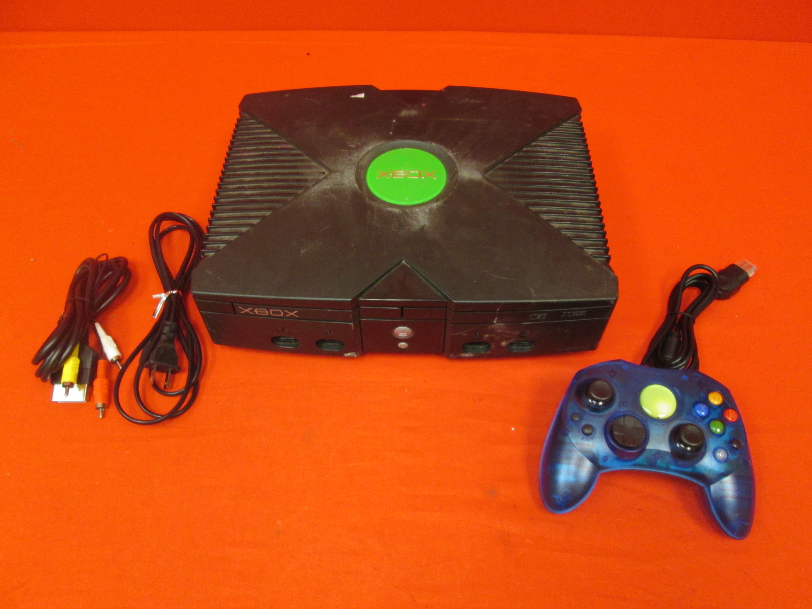 Microsoft Original Xbox Console With Controller Power Supply And AV
