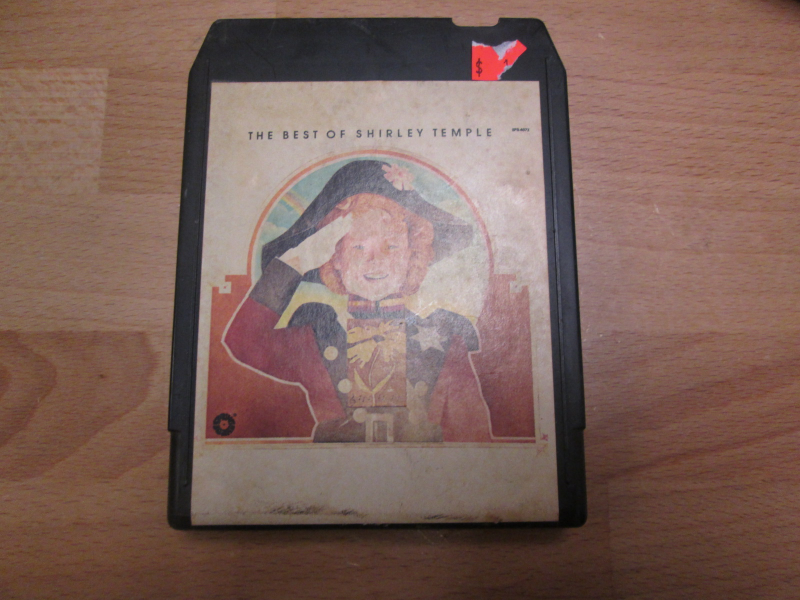 8-TRACK Tape The Best Of Shirley Temple